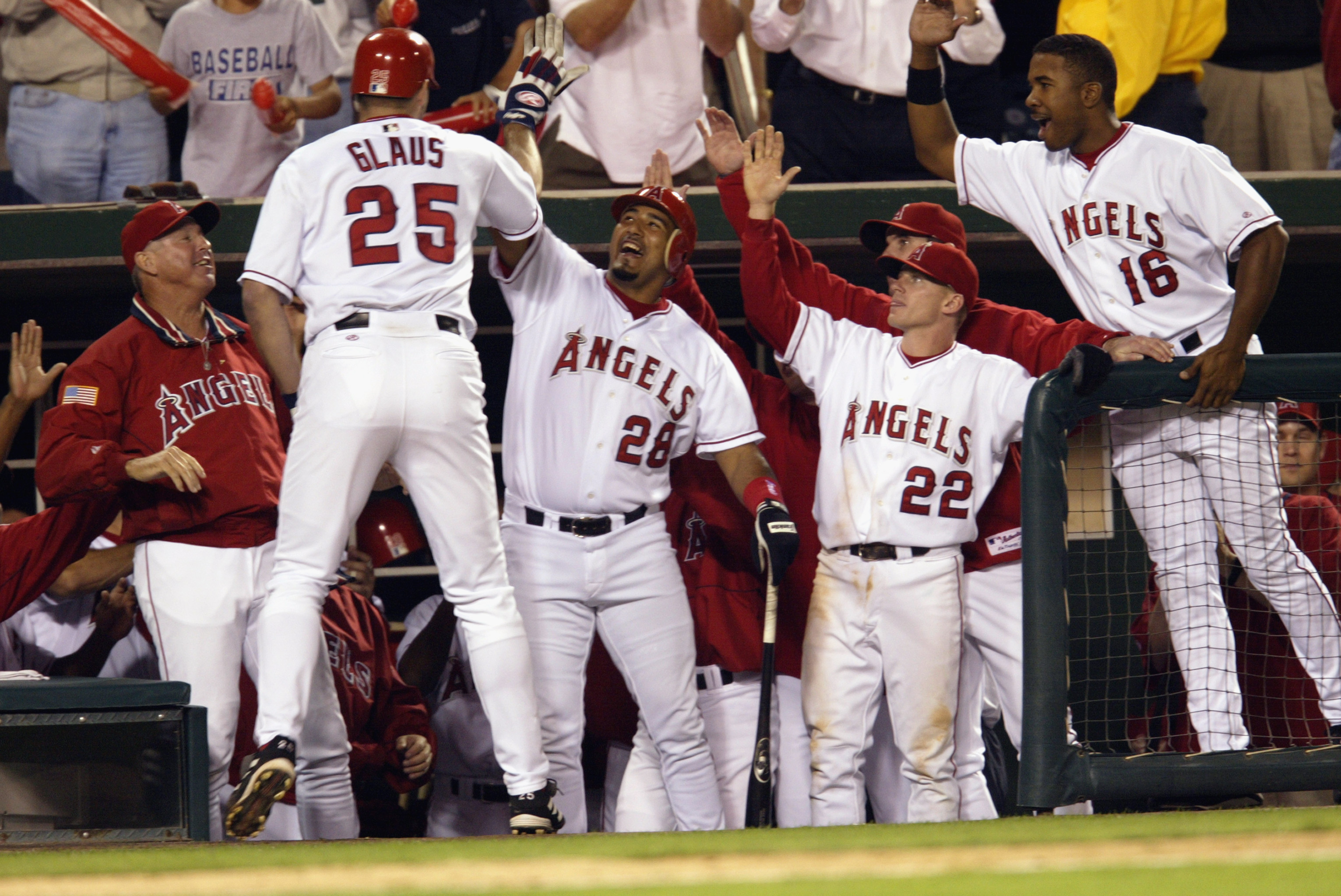 Three of these guys are on this year's ballot; #25 Troy Glaus, #22 David Eckstein, #16 Garret Anderson