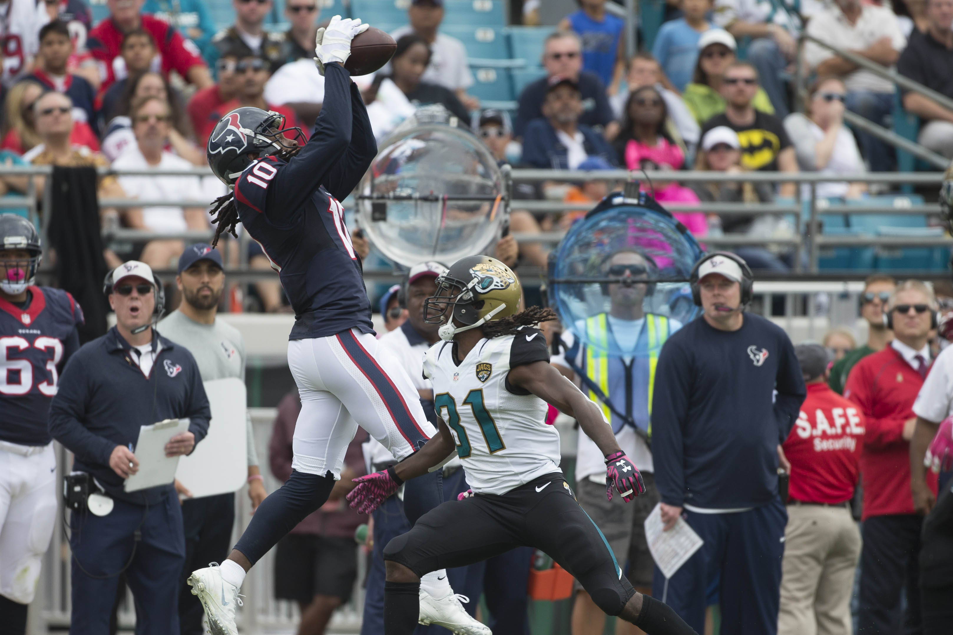 Nuk gives the Jacksonville secondary nightmares.