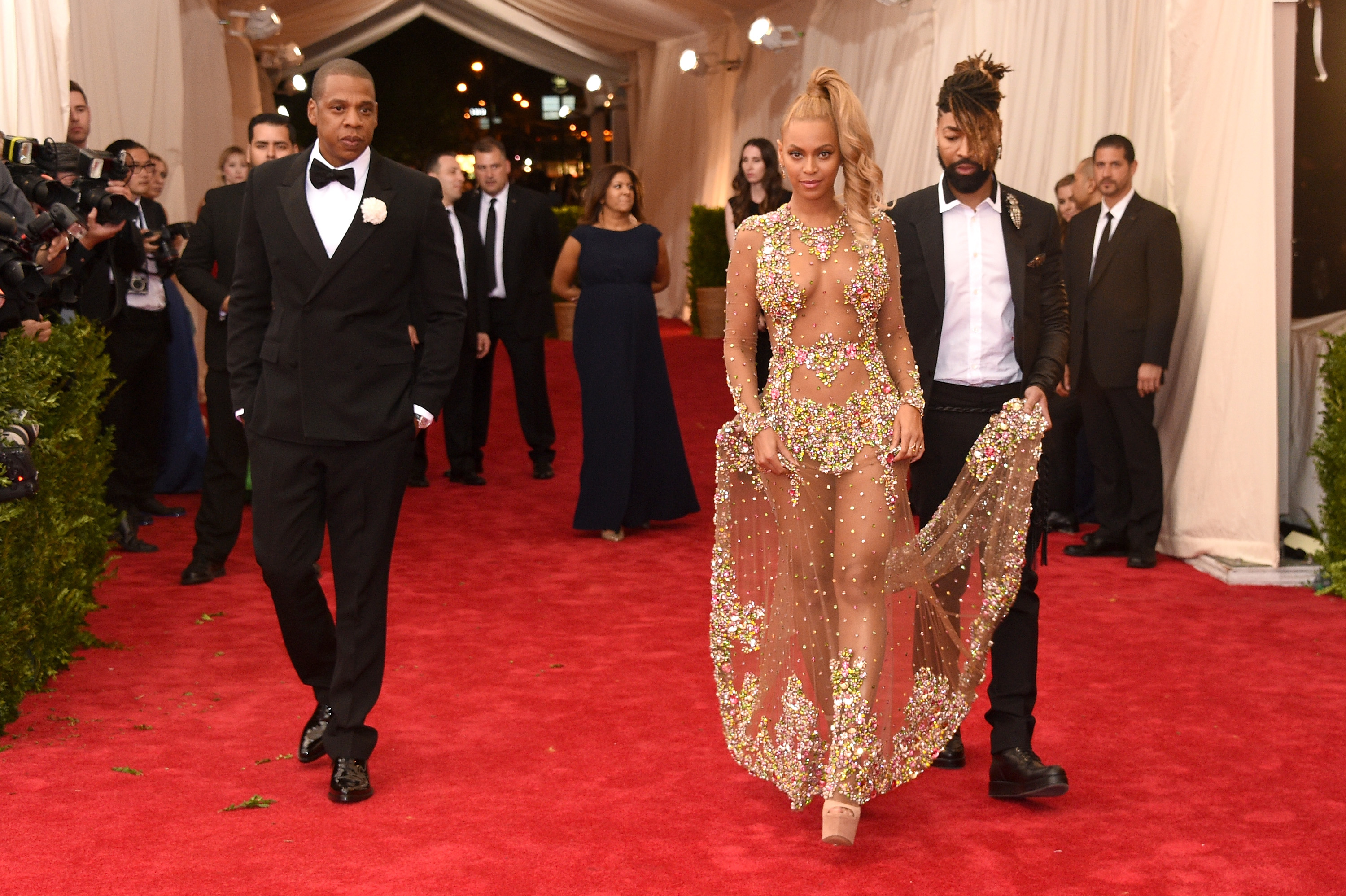 Beyonce, Ty Hunter, and Jay-Z