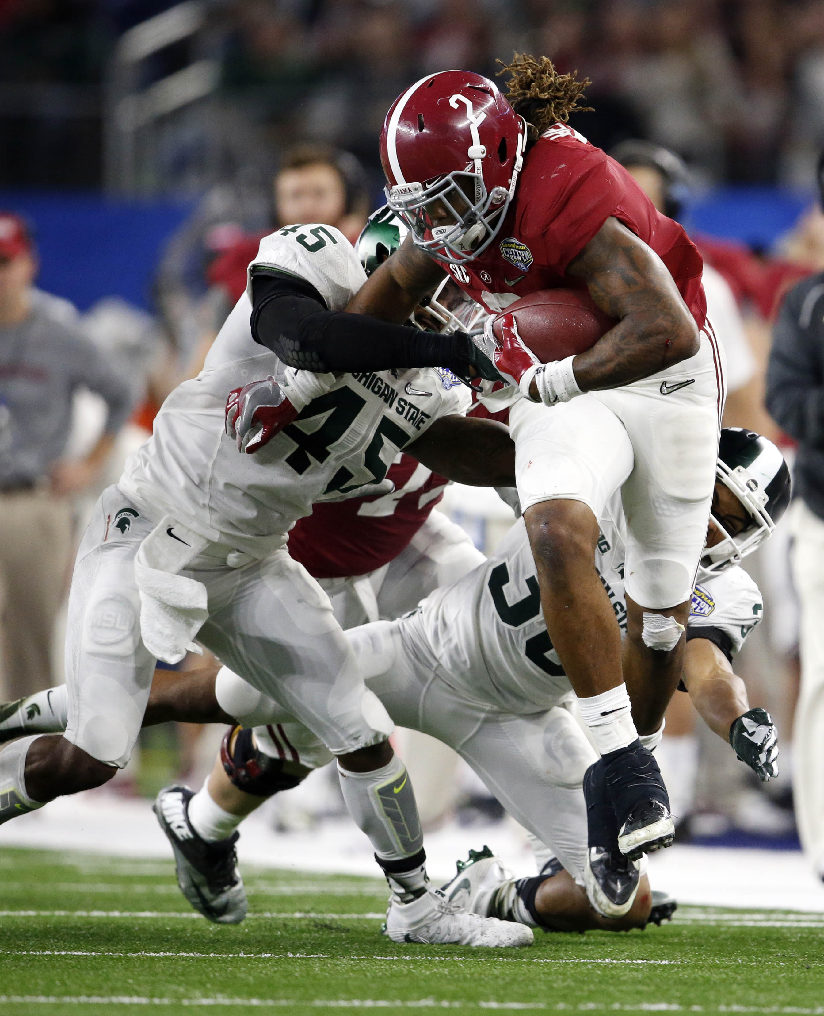 Alabama vs. Michigan State final score, plus 3 things to know from the Tide's 38-0 Cotton Bowl win