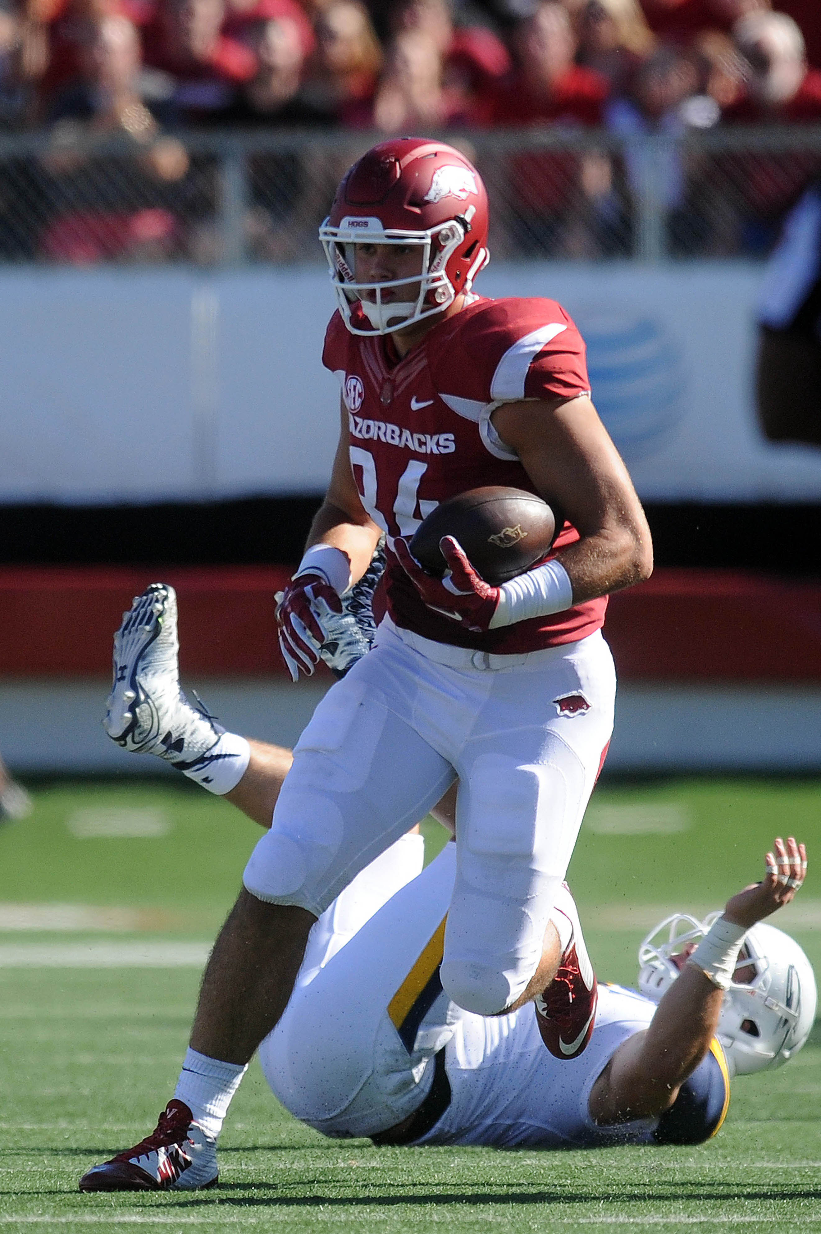 Keep Hunter Henry in check, allow the line to shut down Arkansas' run game, pick apart their secondary... profit.