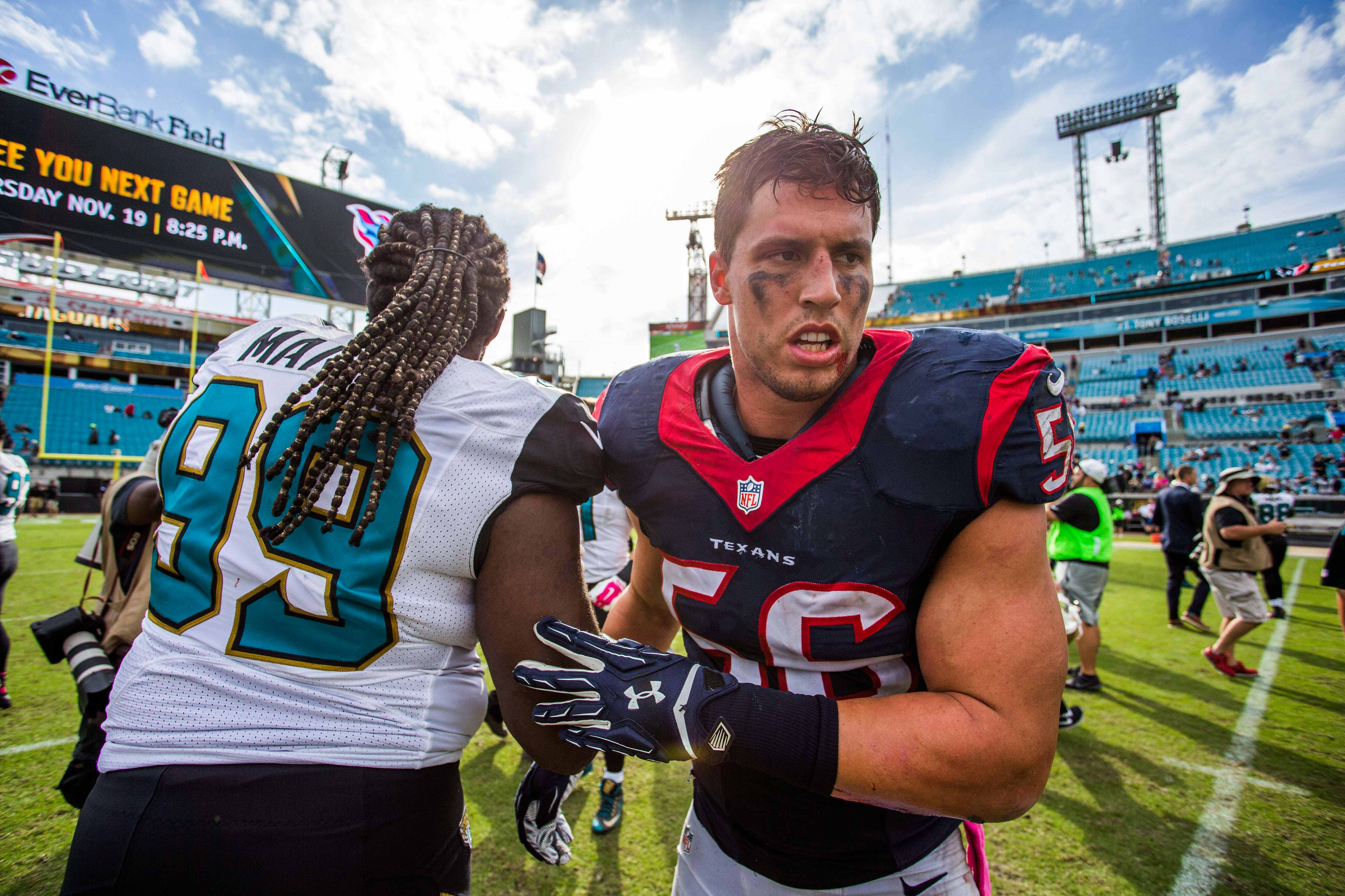 Back to the playoffs for Brian Cushing?