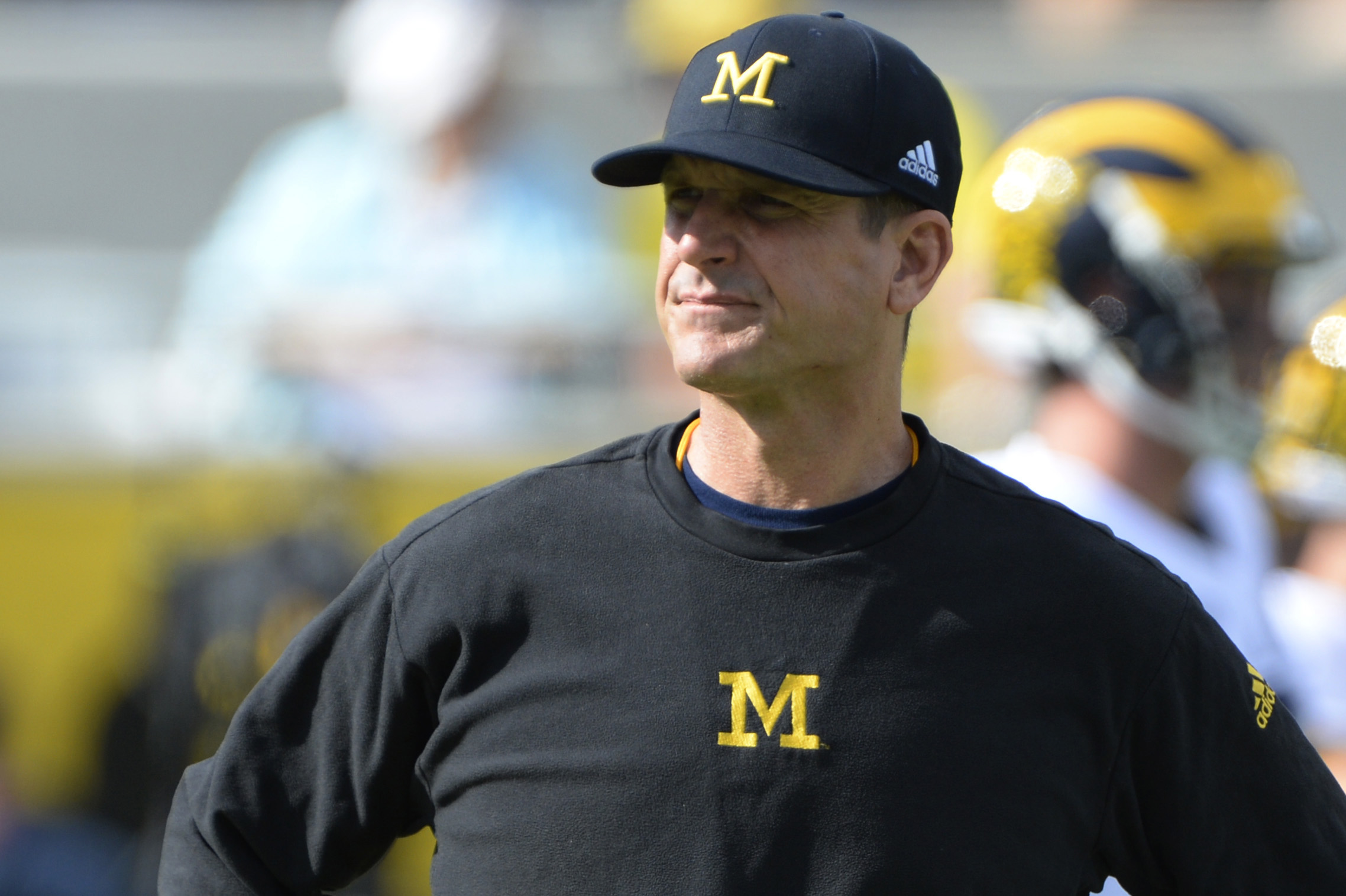 Jim Harbaugh capped a great first season at Michigan by embarrassing Florida