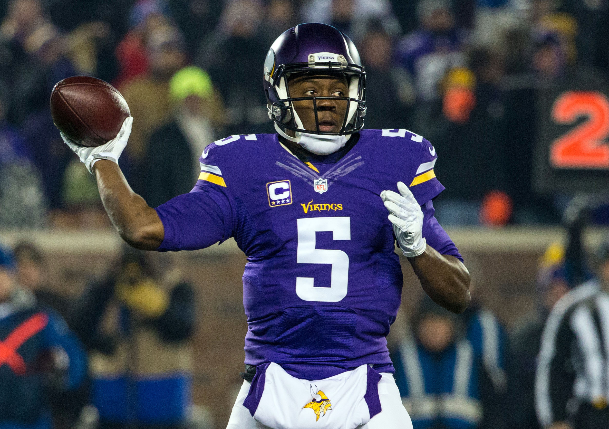 Teddy Bridgewater and the Vikings can win the NFC North.