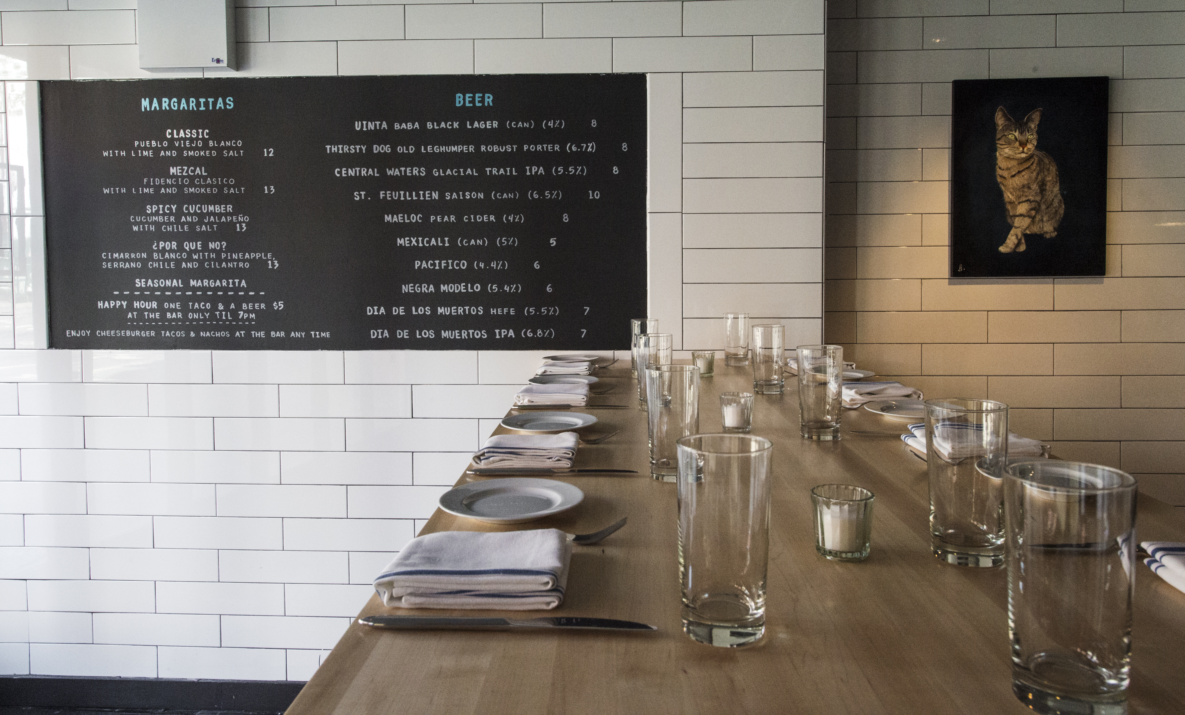 [The dining room at Empellon Cocina by Krieger]