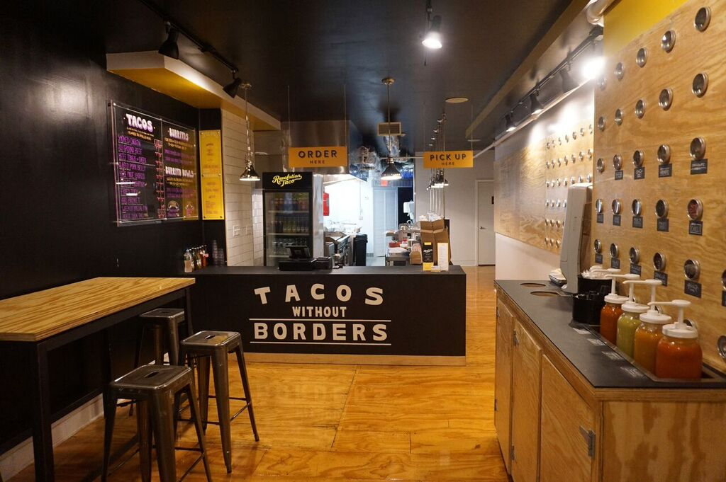 Revolution Taco swings opens their doors