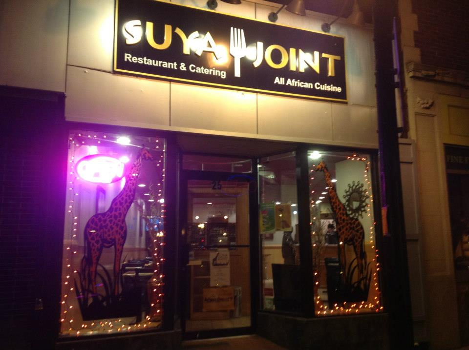 The old Suya Joint location in Roslindale