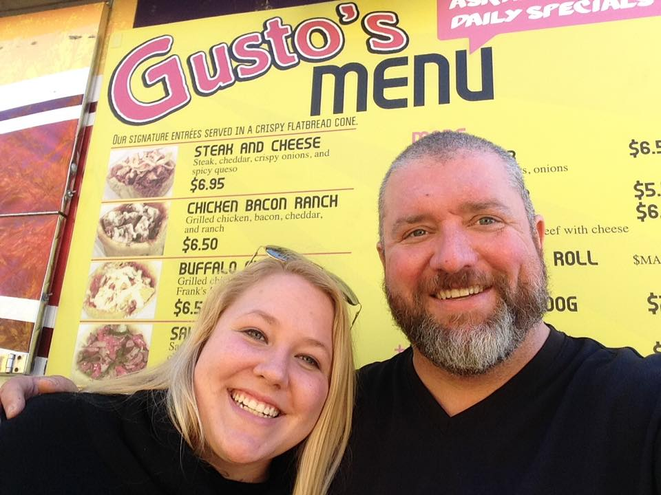 L-R: Taylor Witham, owner of Ziggy's, and Bruce Davidson, former manager and chef of Gusto's.