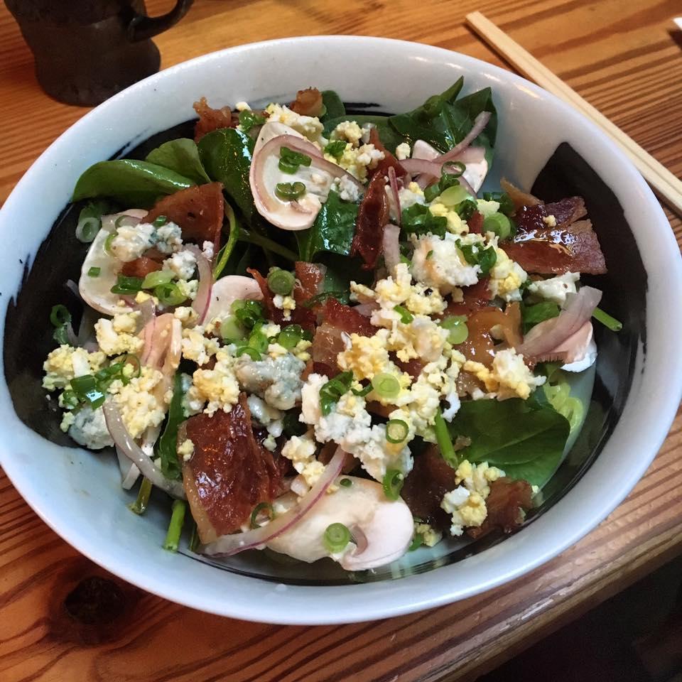 Daikaya's Classic American salad ramen