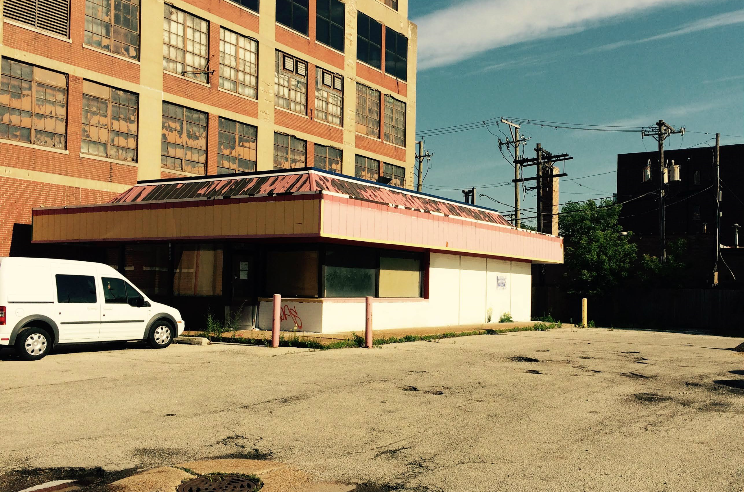 Where the new Antique Taco will be in Bridgeport