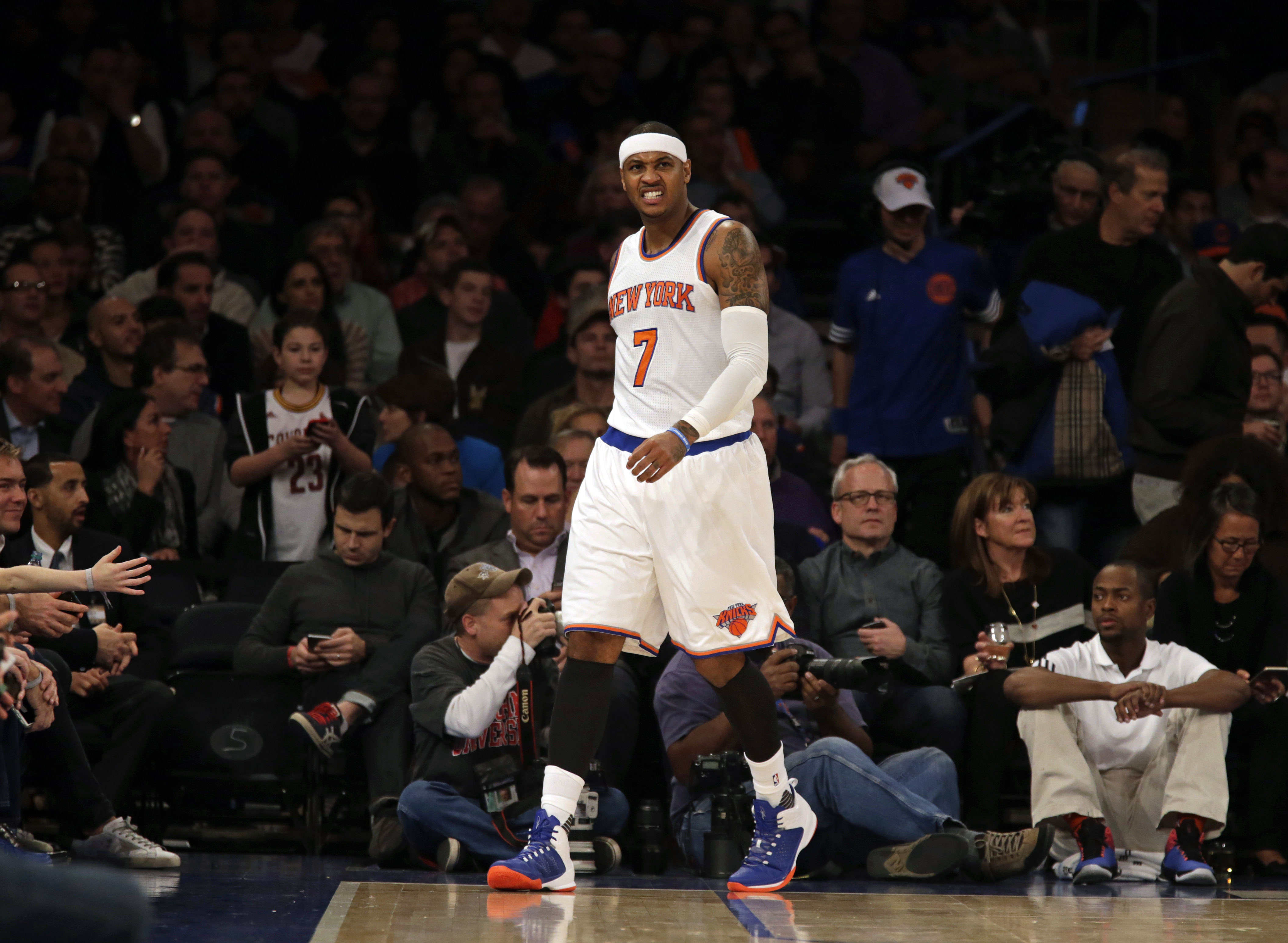 Carmelo Anthony is becoming the player critics always wanted him to be