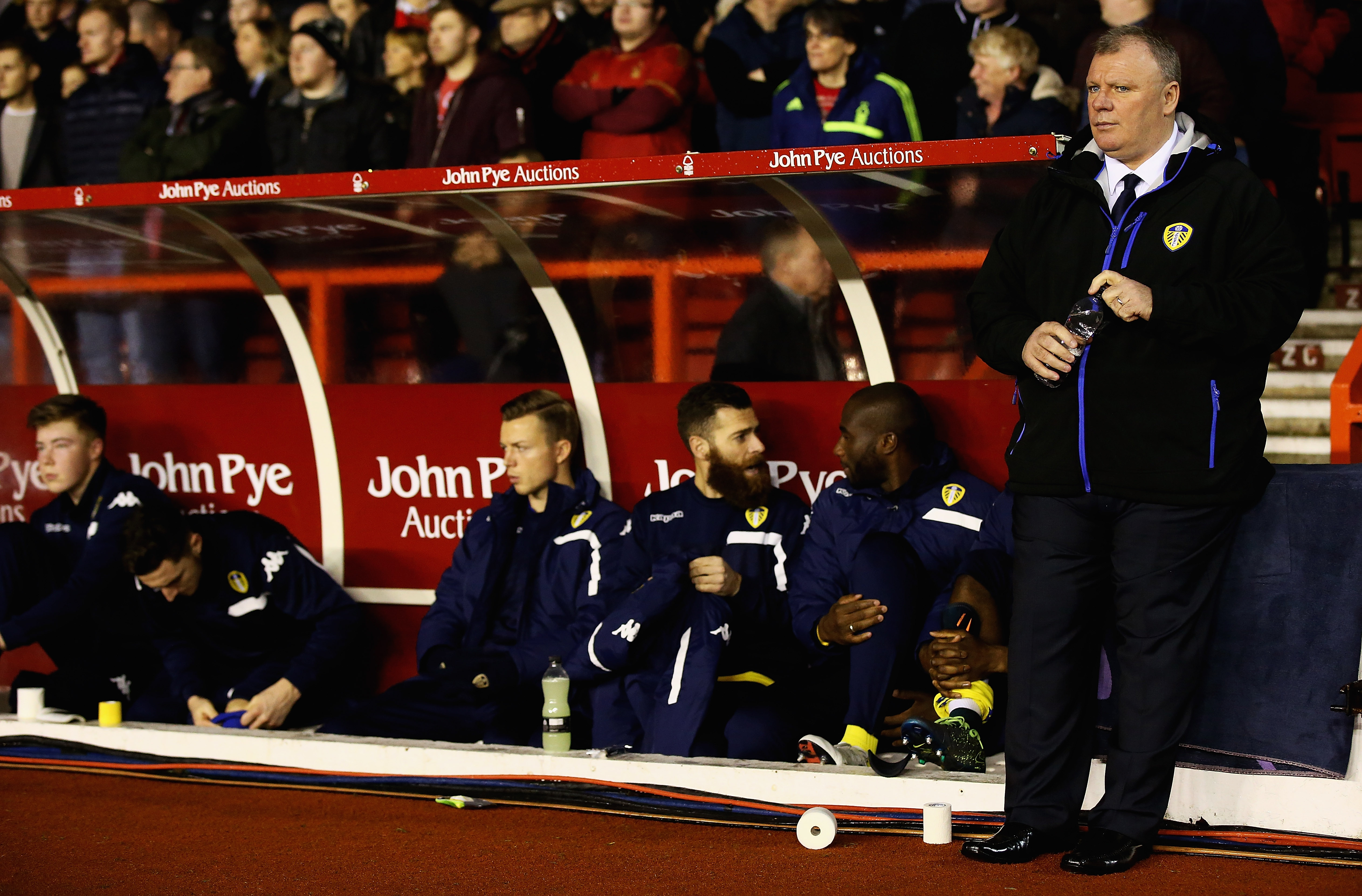 Who knows who'll be on Evans' bench in February?