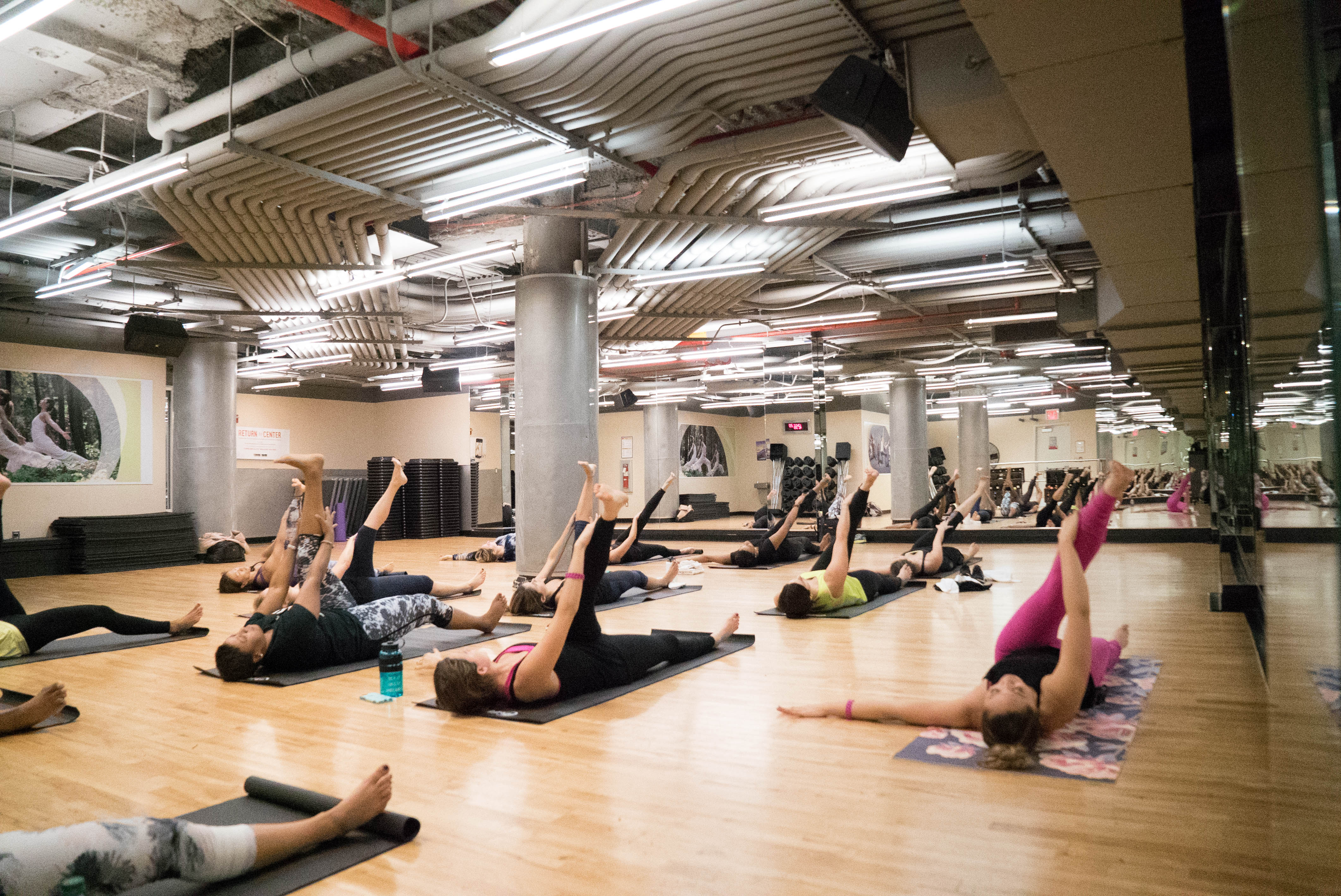 POP Pilates at 24 Hour Fitness
