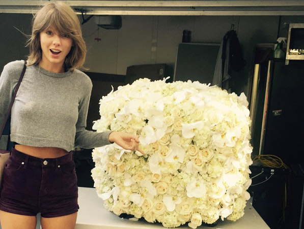 Taylor Swift's LA Florist Snap Is Instagram's Second Most-Liked Photo of All Time