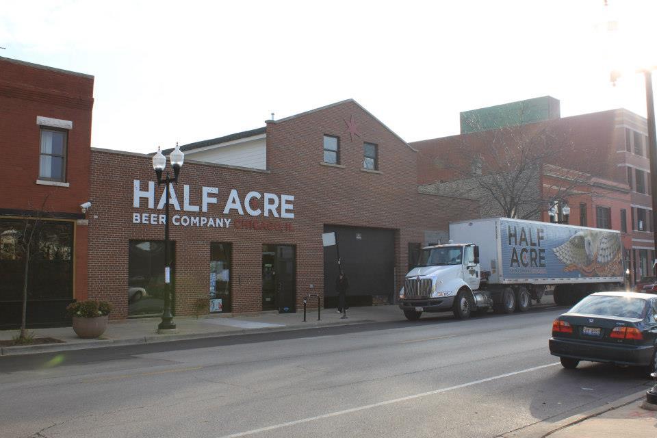 Half Acre Brewing Co. taproom