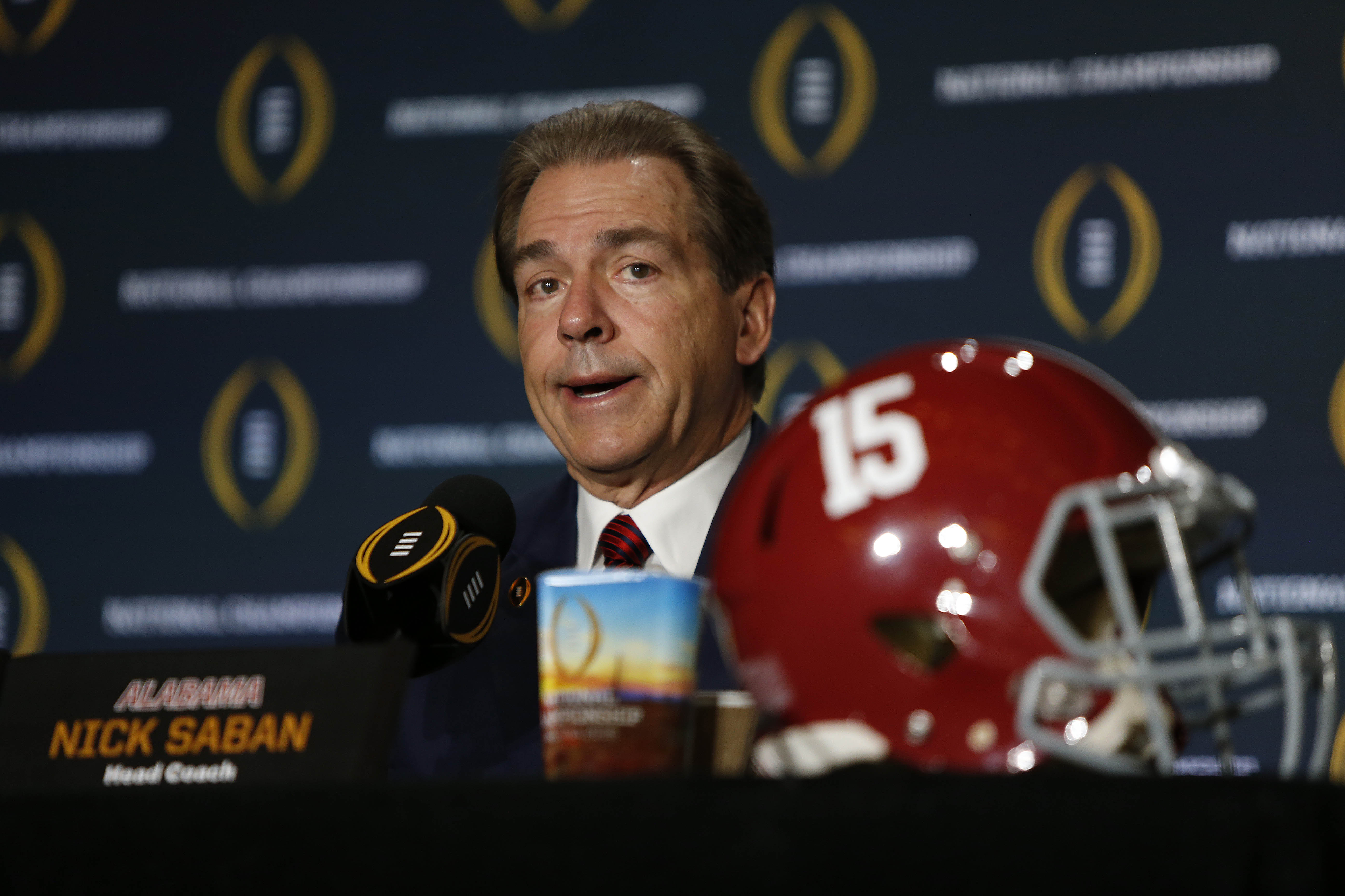 Nick Saban again calling for NFL Draft grades delay, and his players agree