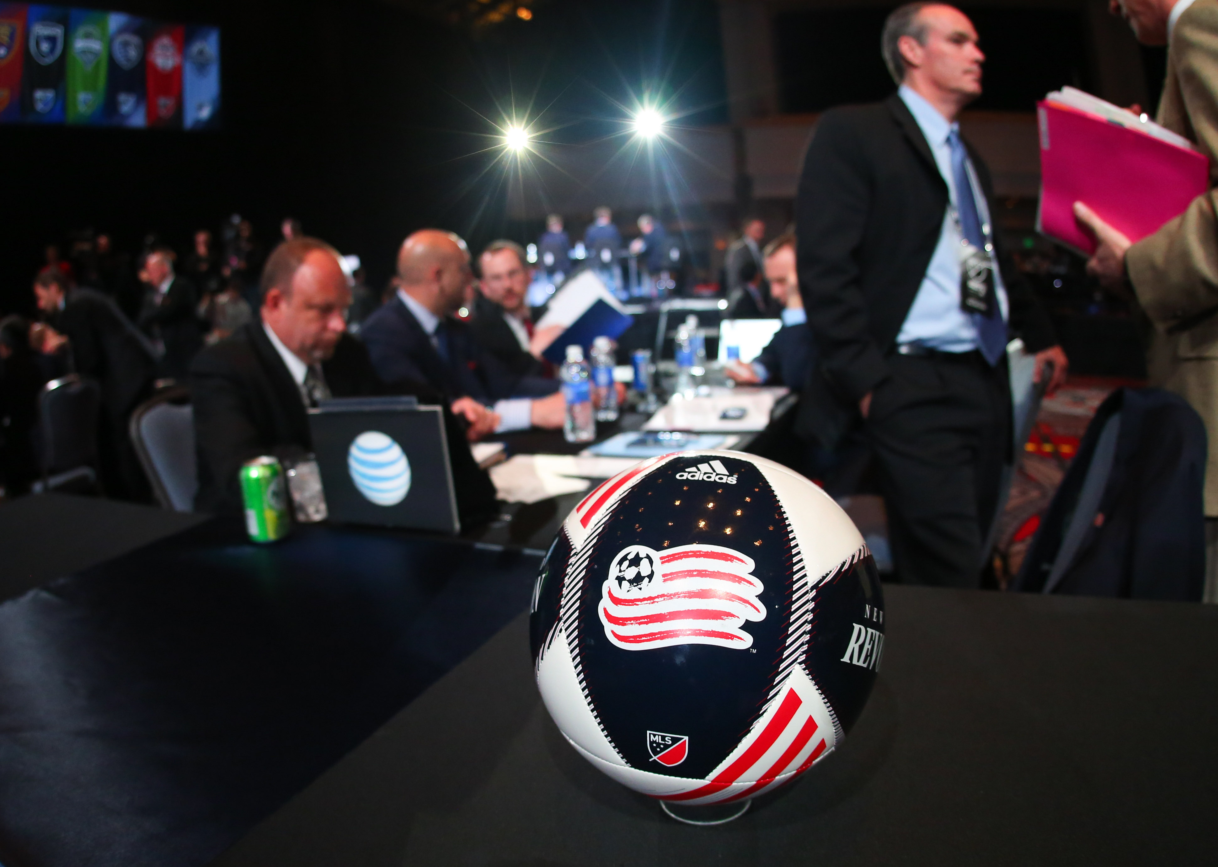 The Revolution have three selections in this year's MLS SuperDraft in Baltimore.