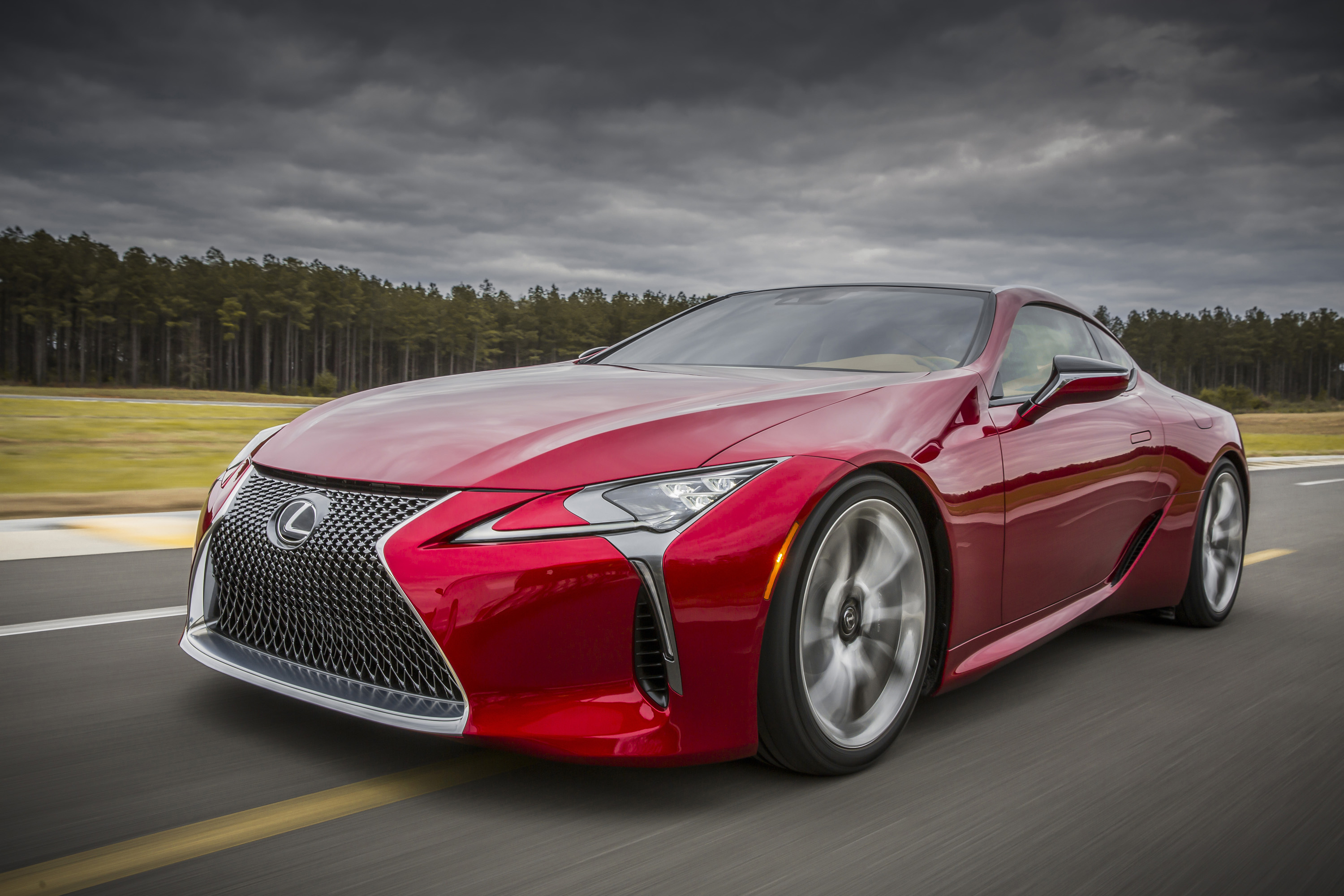 The Lexus Lc 500 Is A Big Powerful Flagship Coupe And It Won T