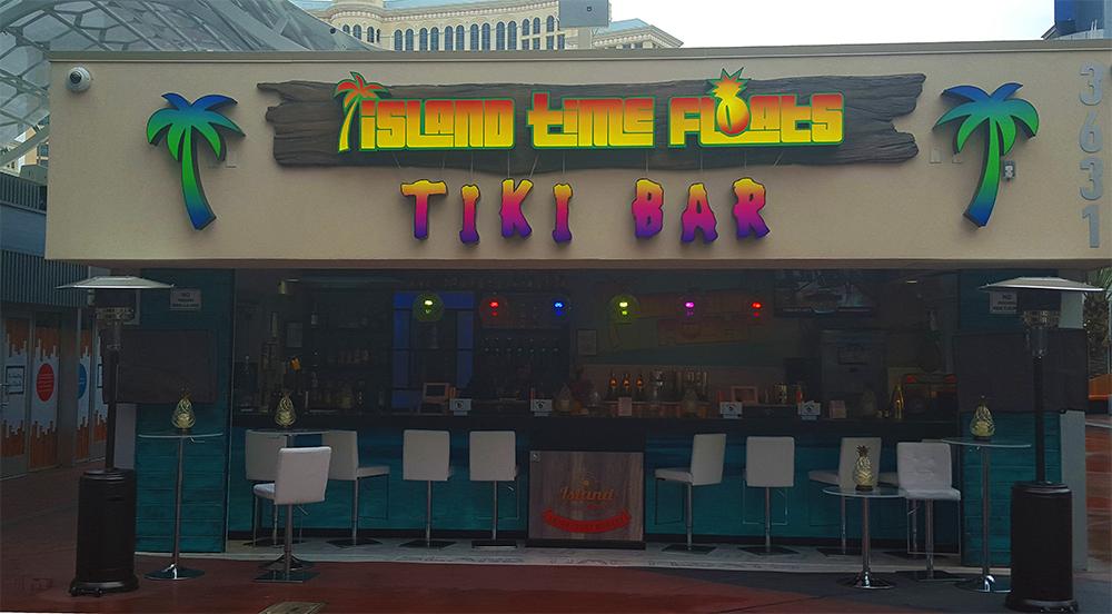 Island Time Floats Tiki Bar