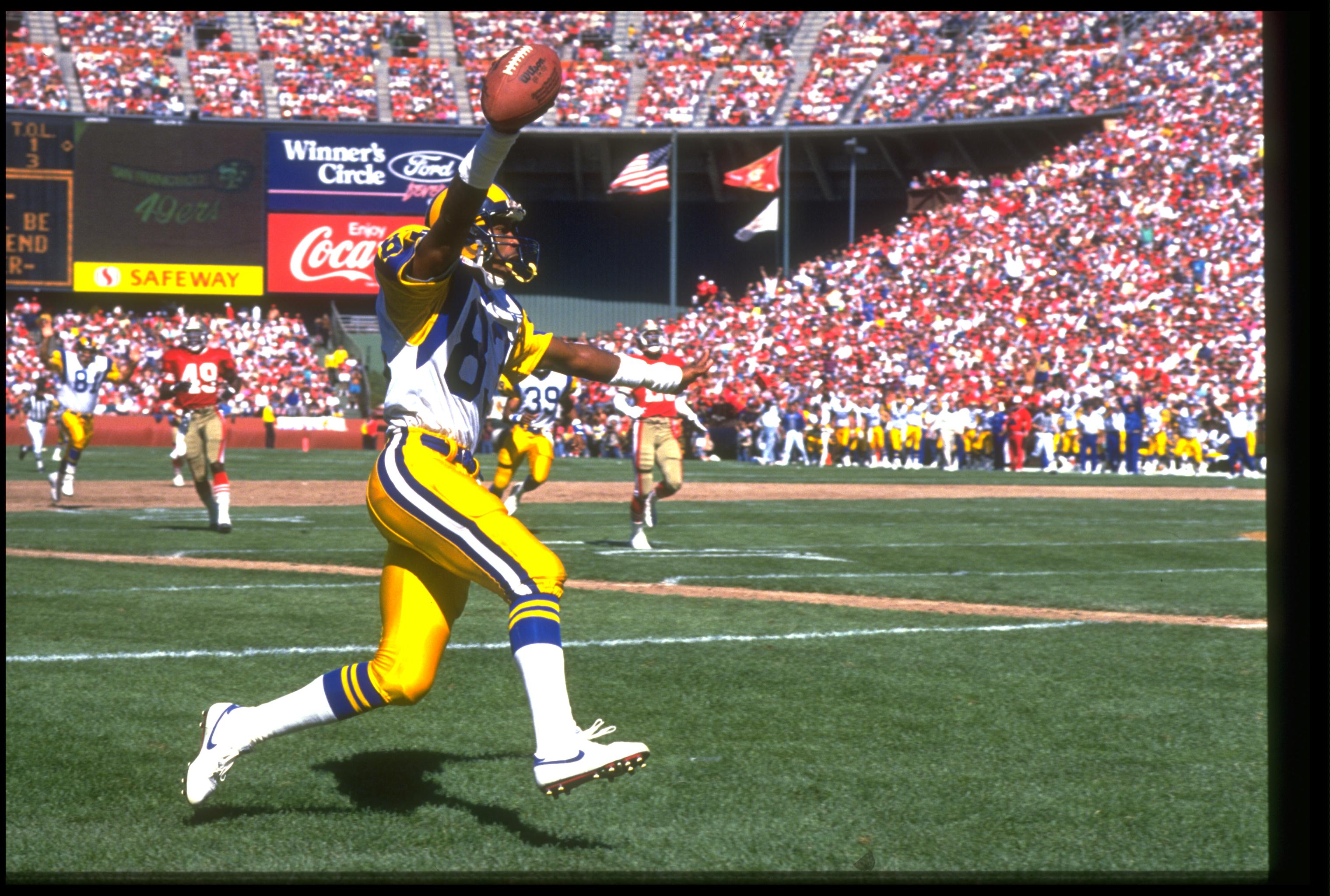 Former Bruin Flipper Anderson played for the Rams.