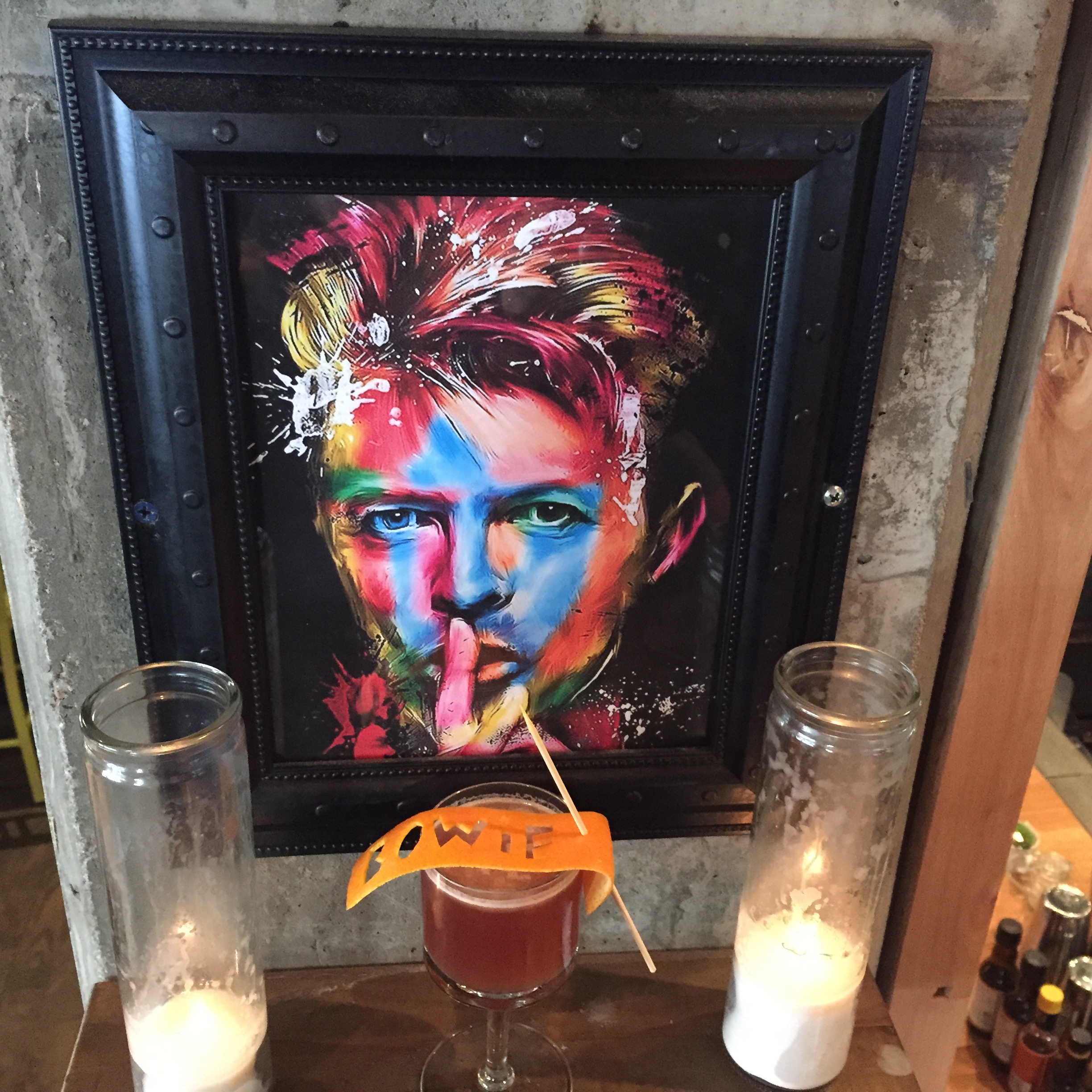 David Bowie-Inspired Cocktail Menu Launches at the Squeaky Bean