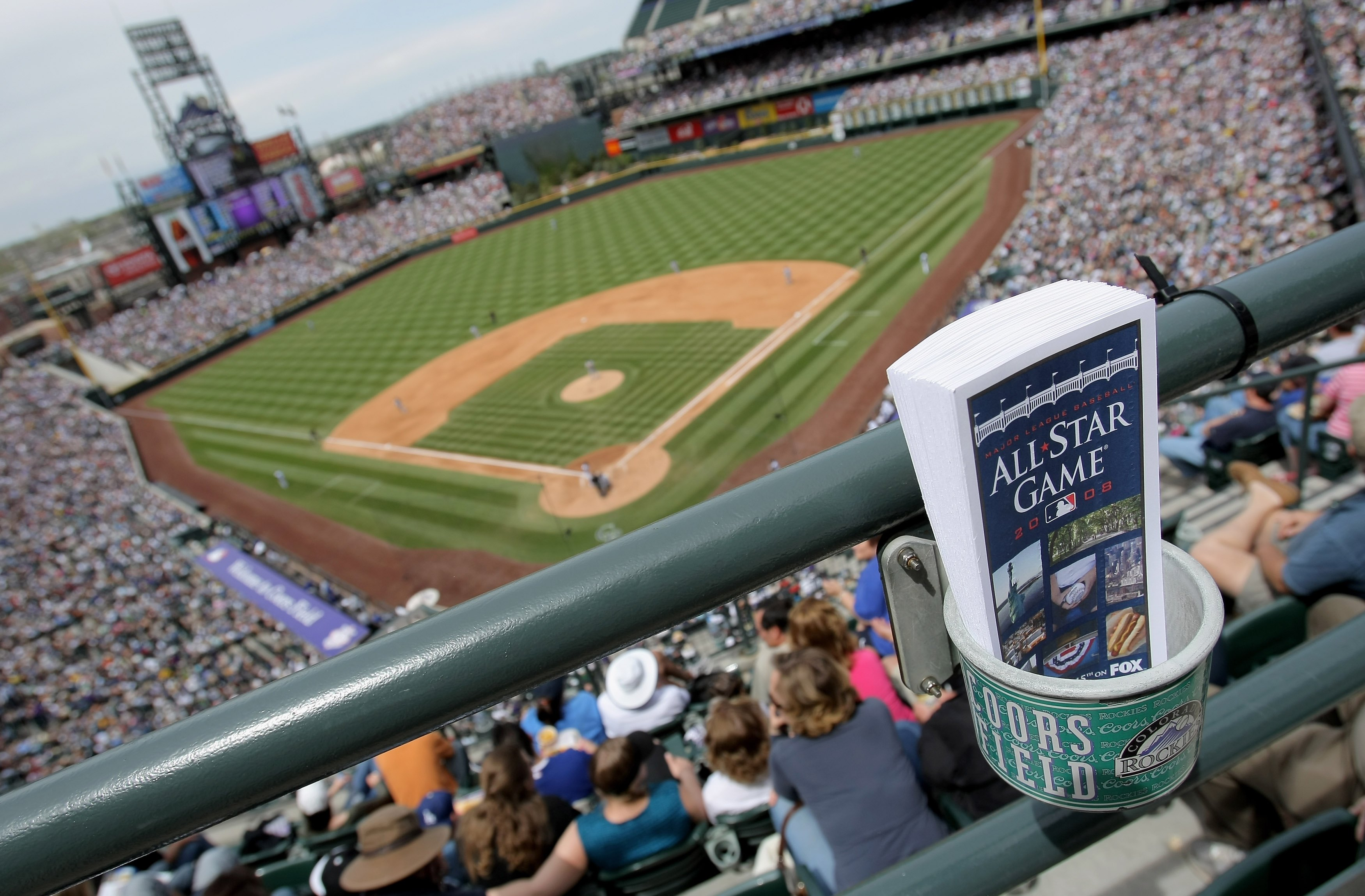 No Colorado Rockies pitchers attended the ASG in Coors Field, that's for sure.