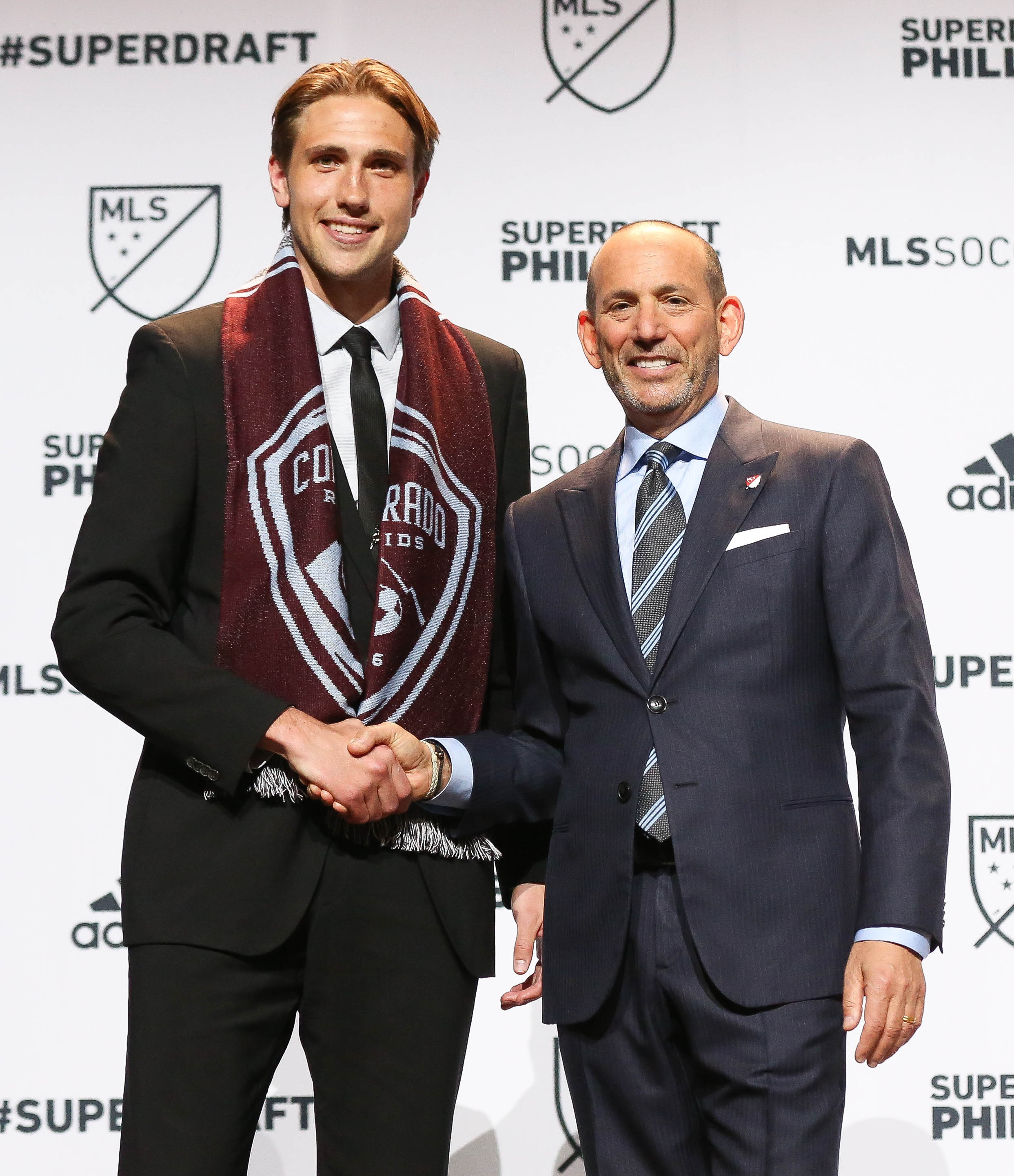 Sjoberg was the first pick for the Rapids in the 2015 MLS SuperDraft