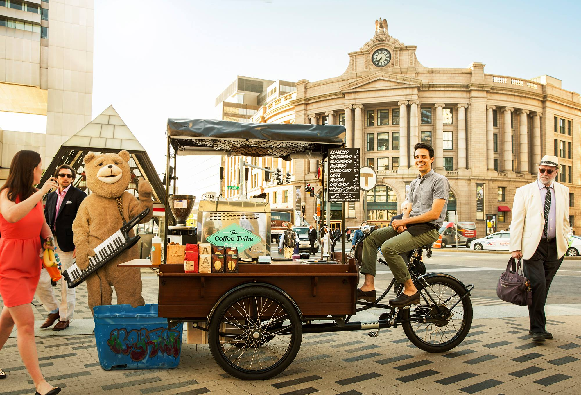 The Coffee Trike Is for Sale