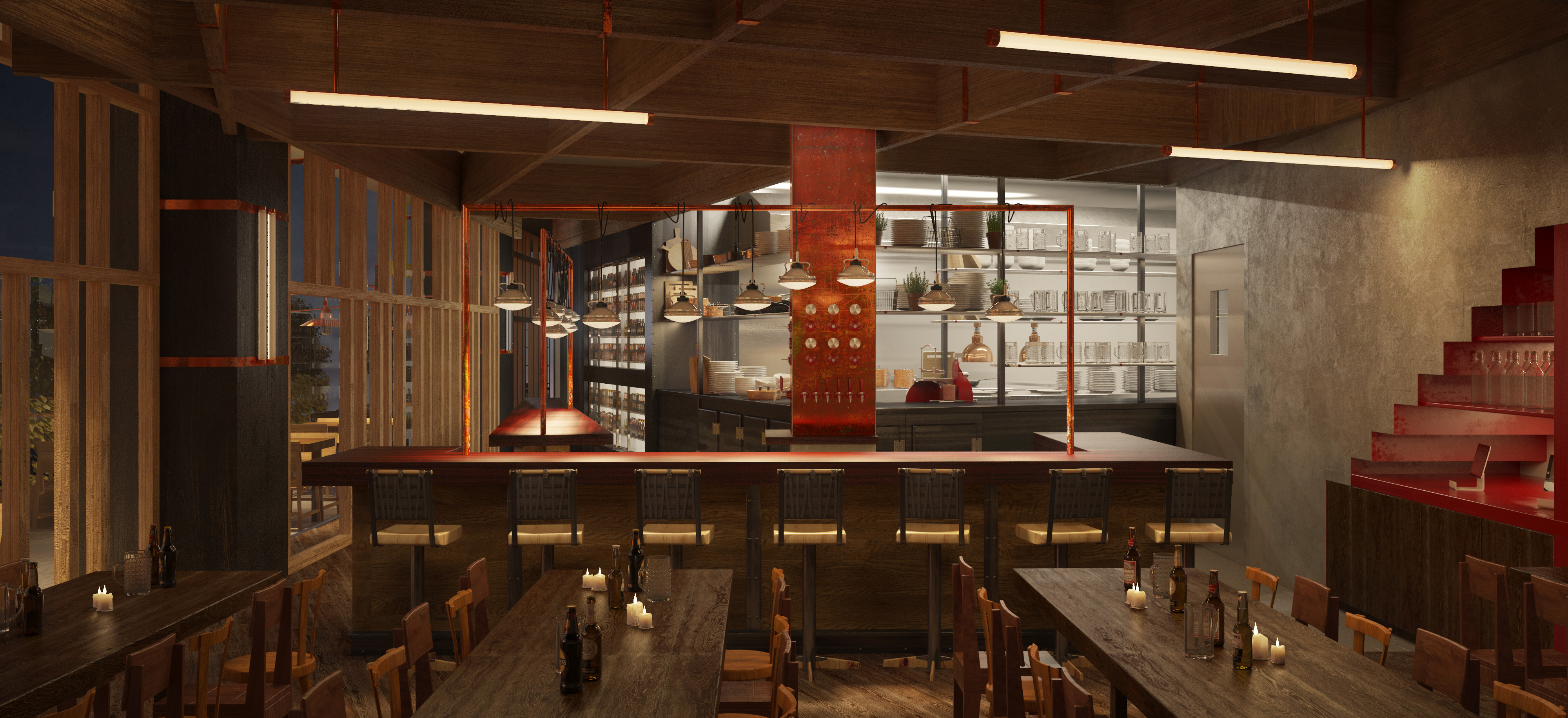 The Cannibal Culver City Rendering