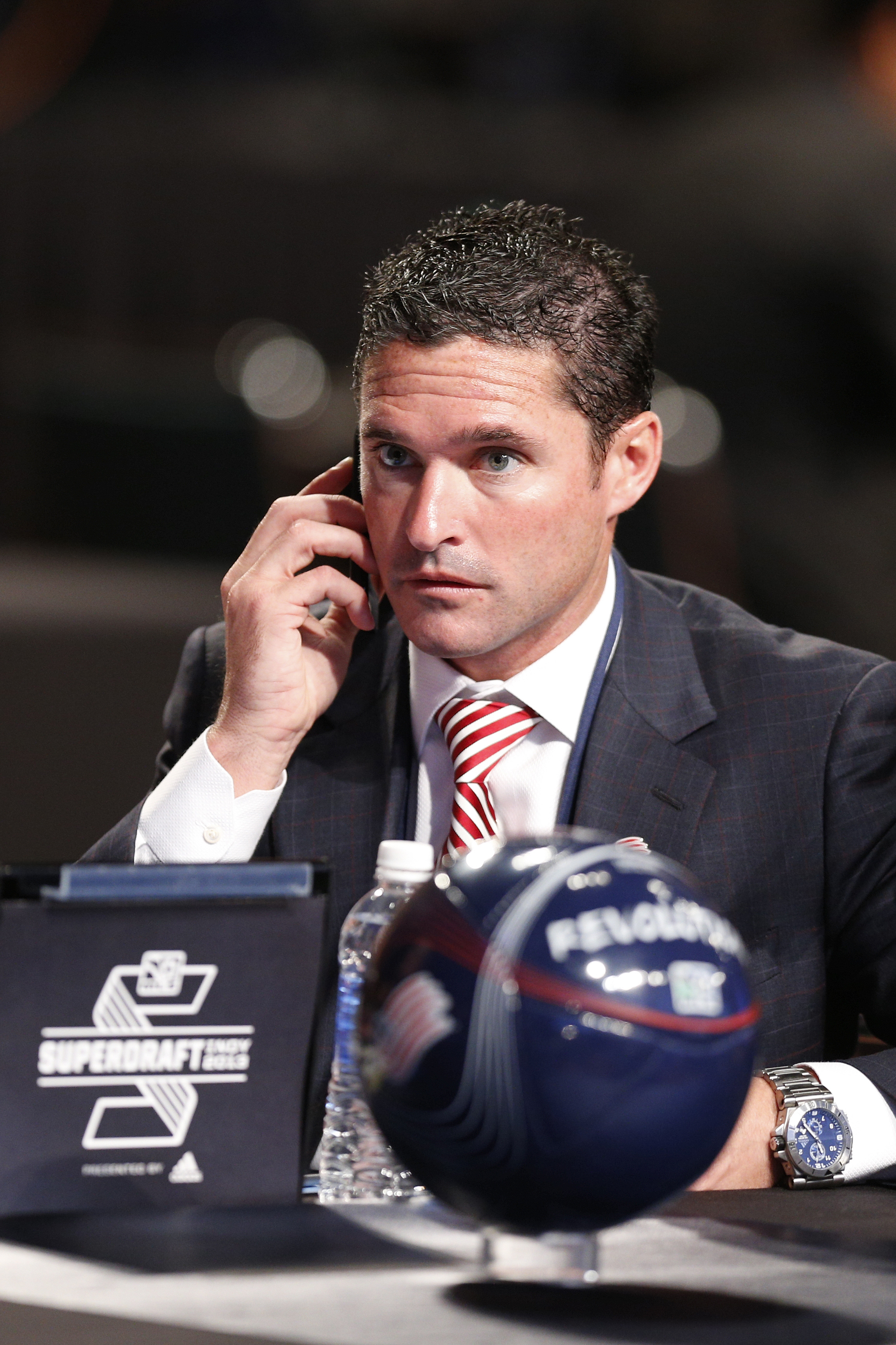 Who has caught Jay Heaps' eye in the college soccer world?
