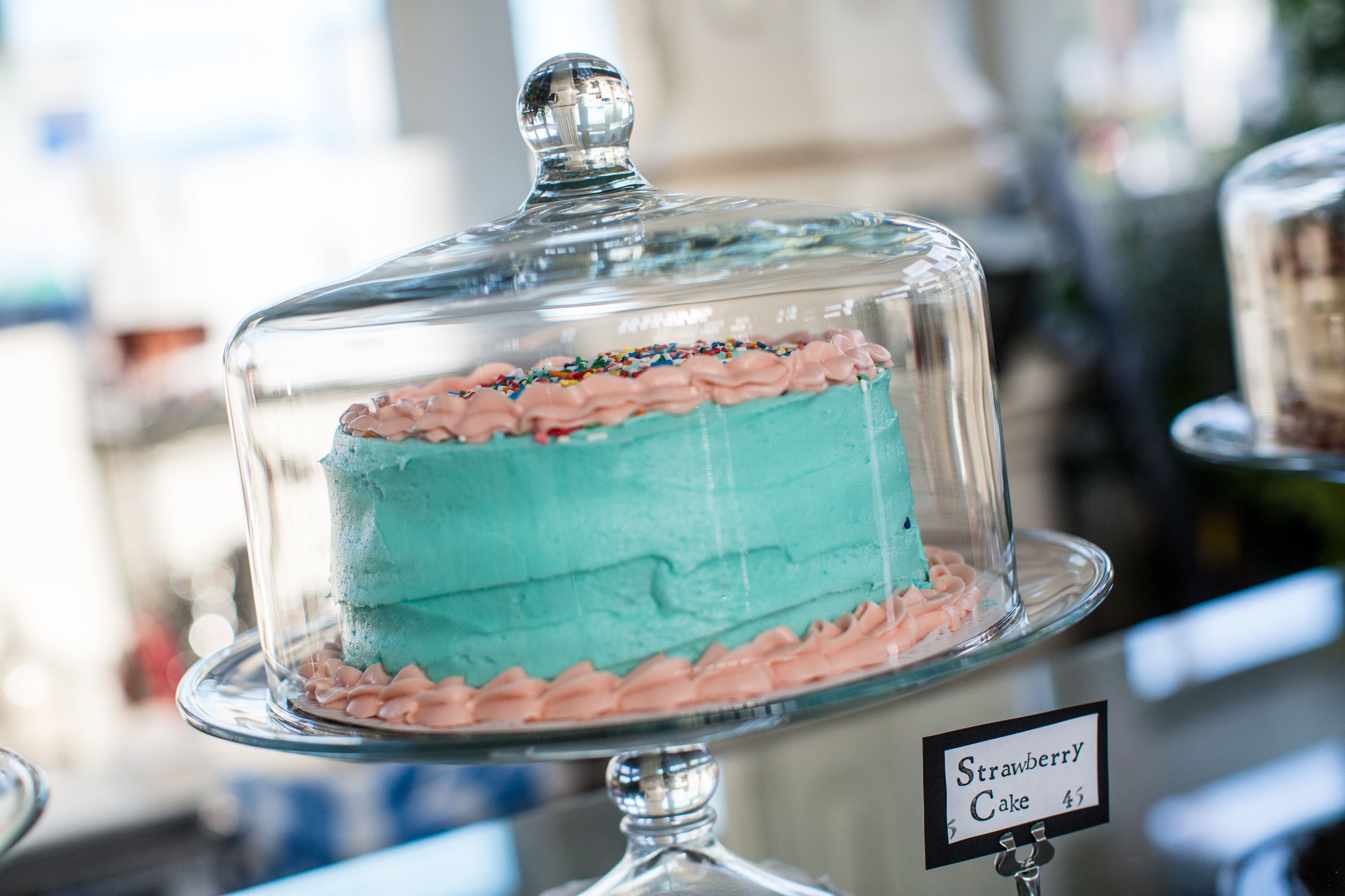 A cake at The Sweet Spot.