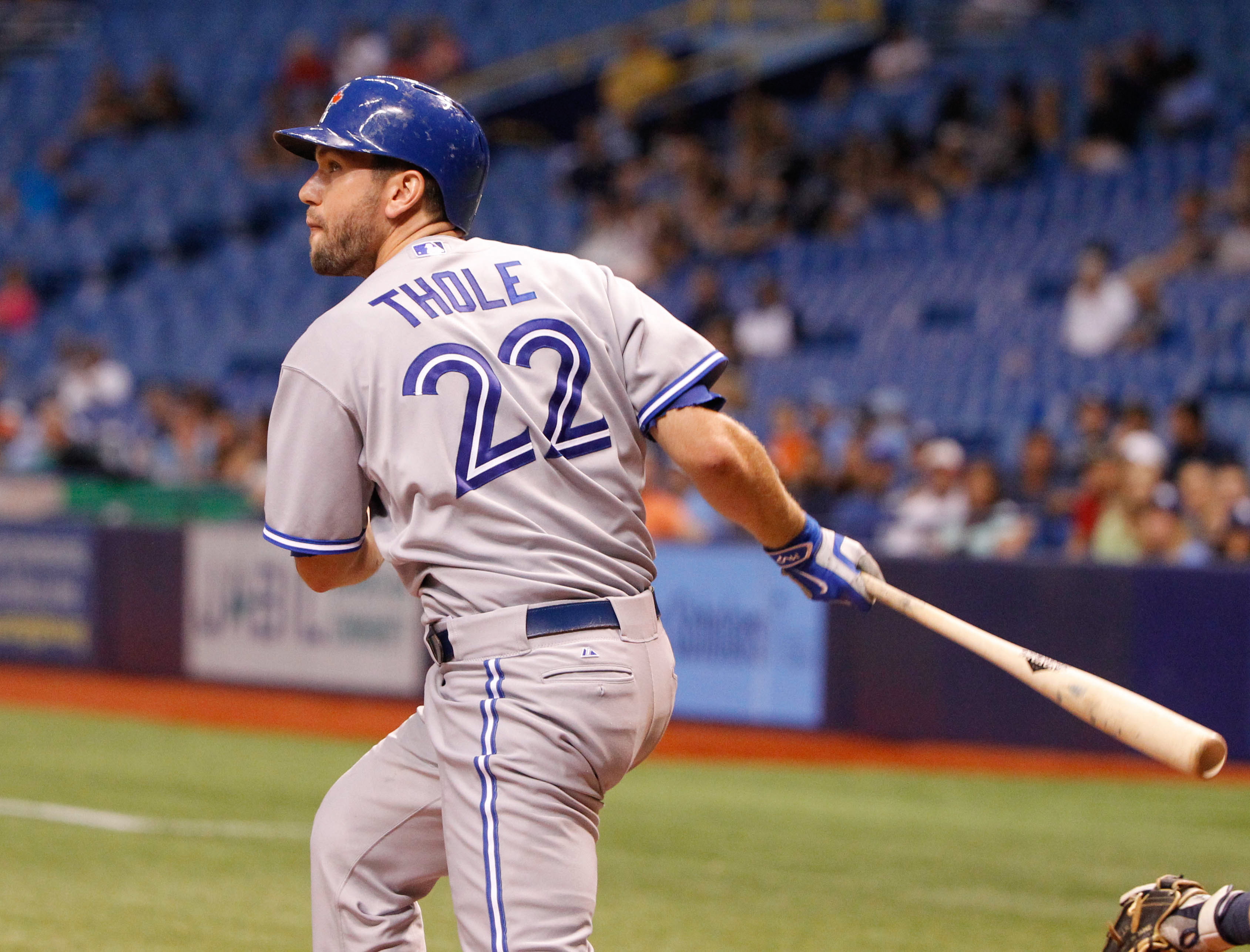 Josh Thole will get to keep his #22!