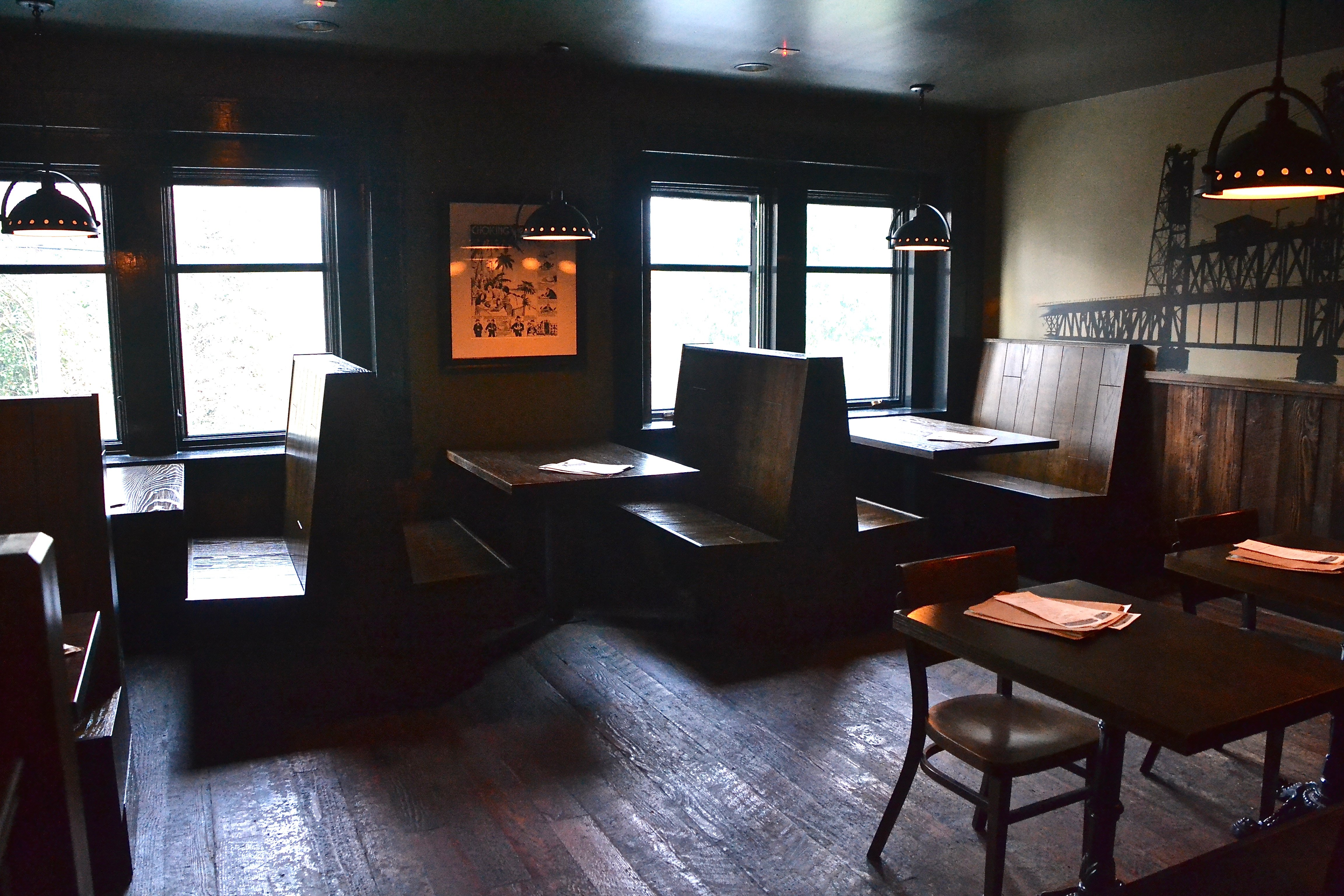 Interurban's recently remodeled upstairs