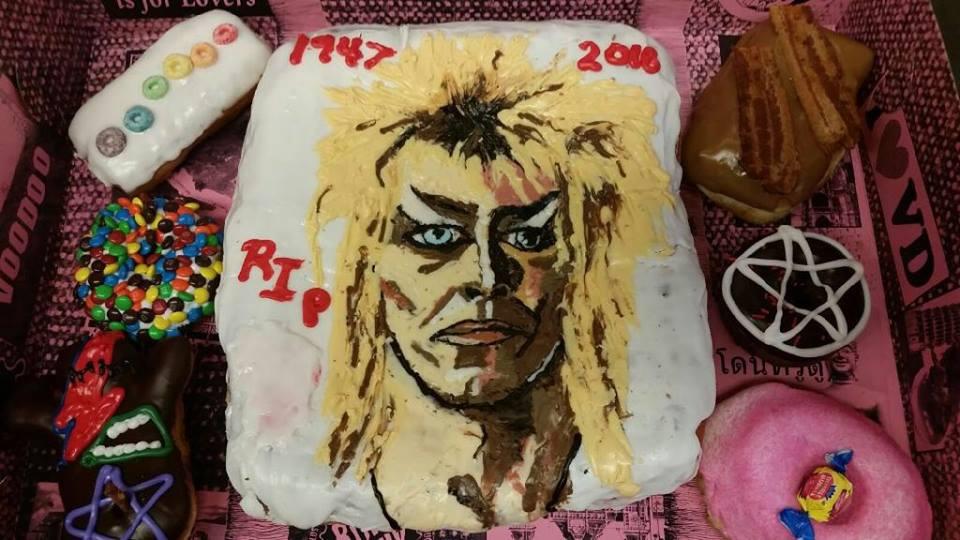 Voodoo Doughnut's David Bowie tribute doughnut