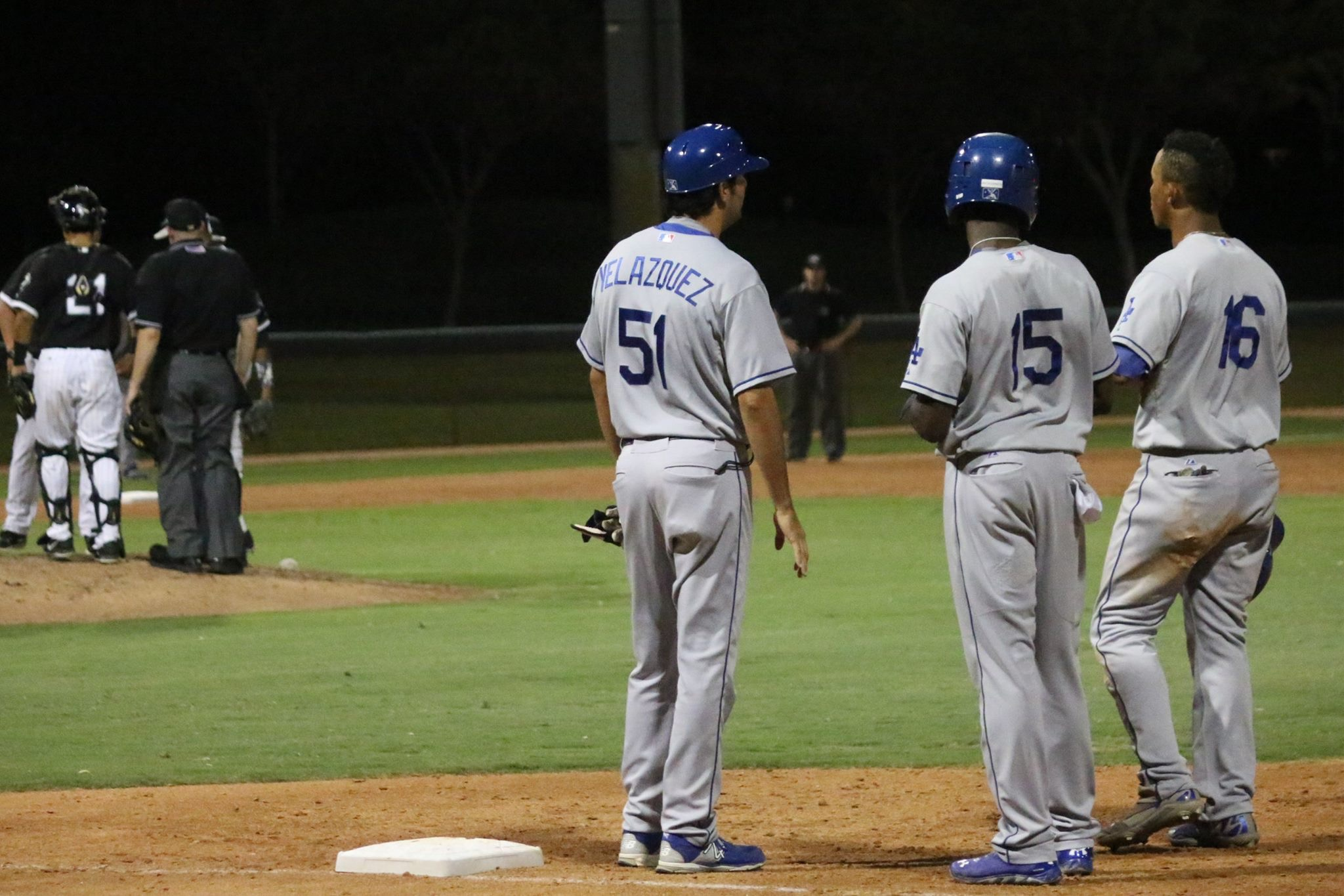 Gil Velazquez, seen here coaching the rookie-level Arizona League Dodgers in 2015, will manage Class-A Great Lakes in his second season as a professional coach.