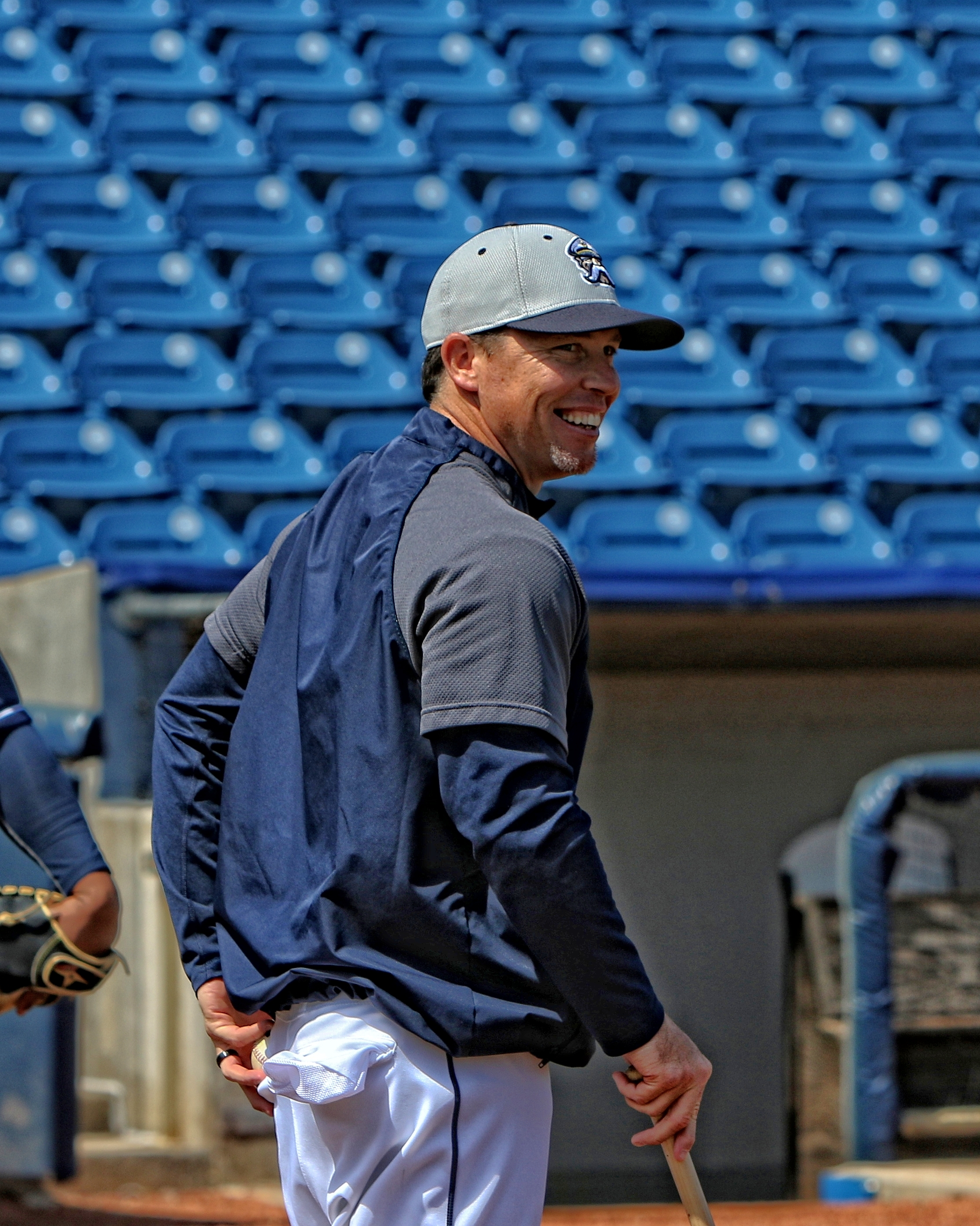 Shaun Larkin joins the Dodgers organization after coaching three years in the Indians organization.