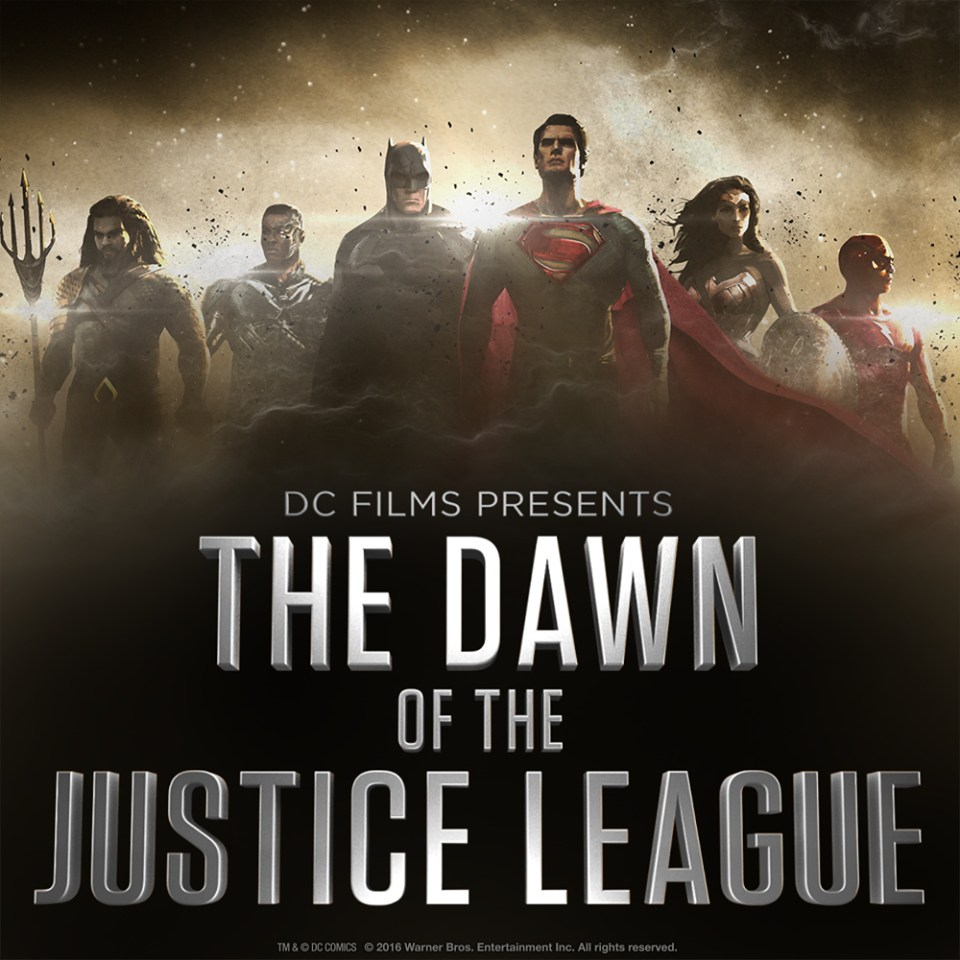 First concept art for the Justice League movie arrives