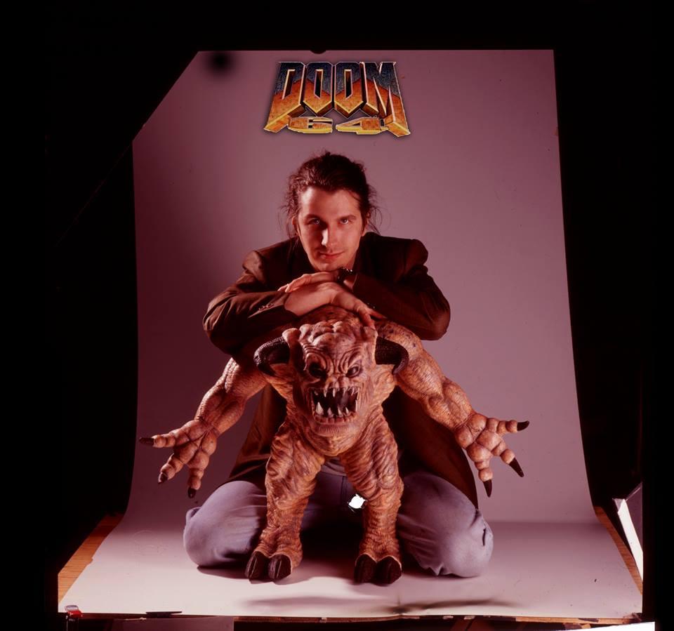 Doom artist shares terrifying creature design models