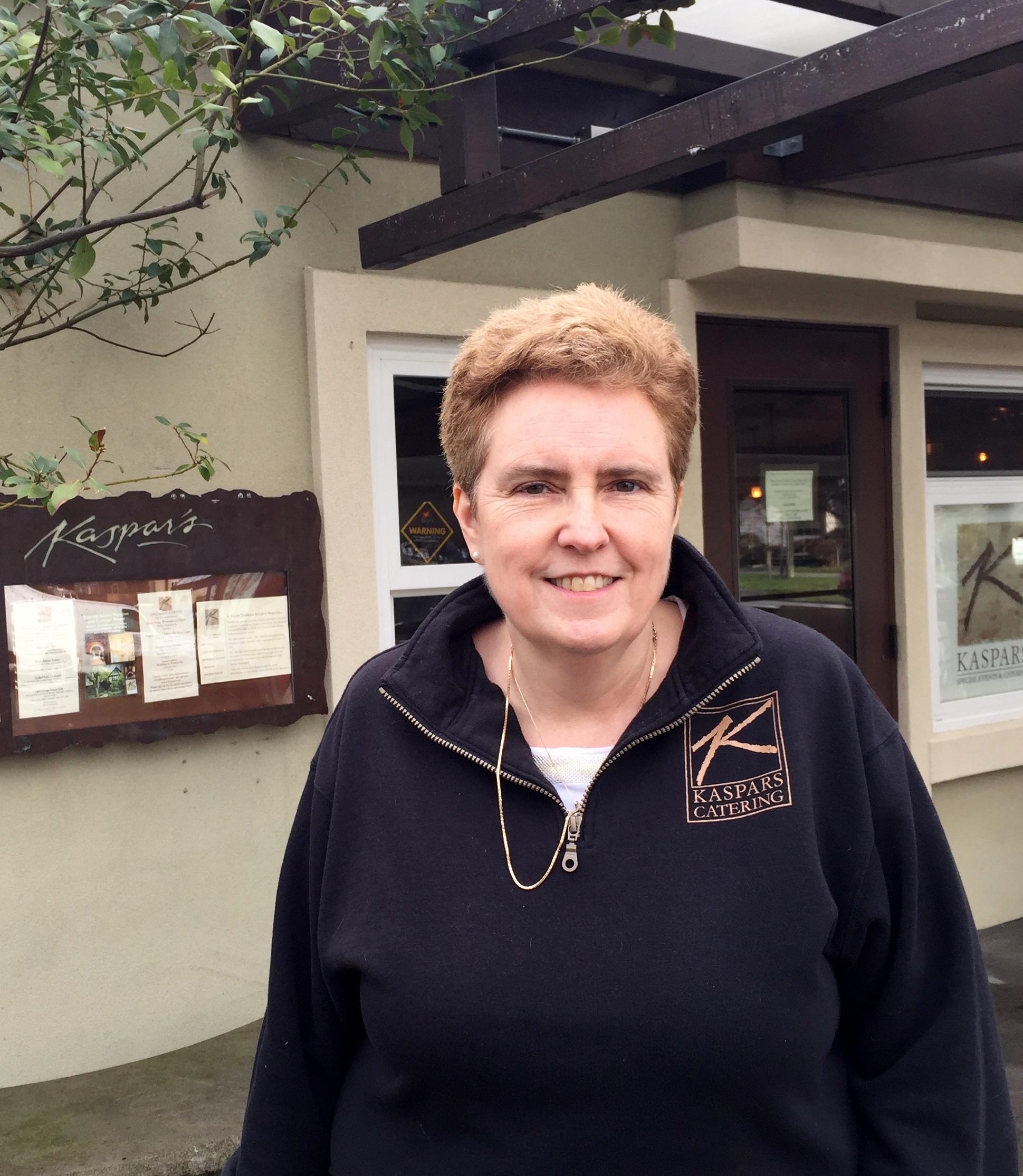 Nancy Donier of Kaspar's.