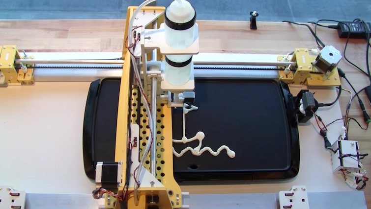 Industrious College Students Whip Up a Whimsical Pancake Printer