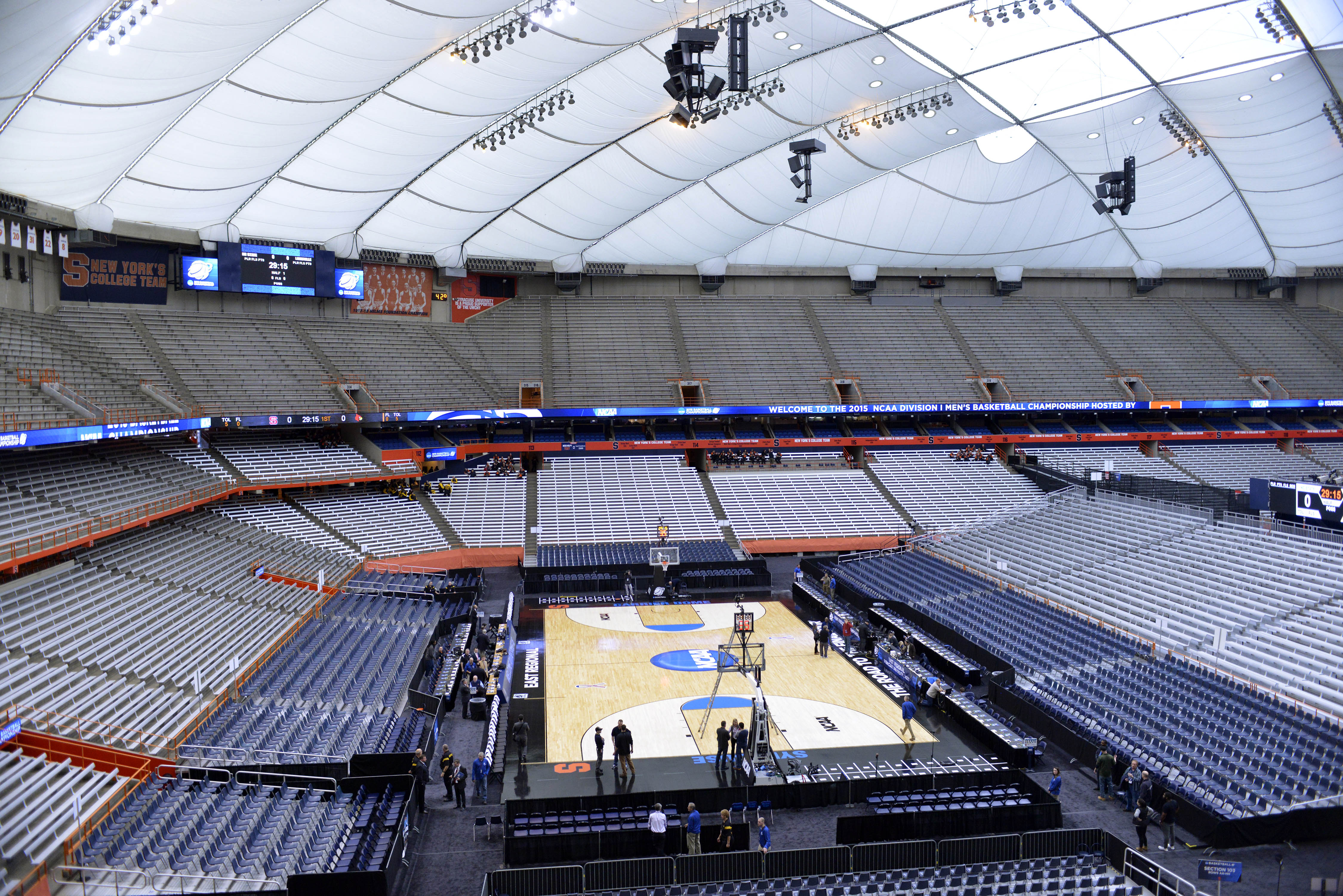 Carrier Dome Renovations Troy Nunes Is An Absolute Magician