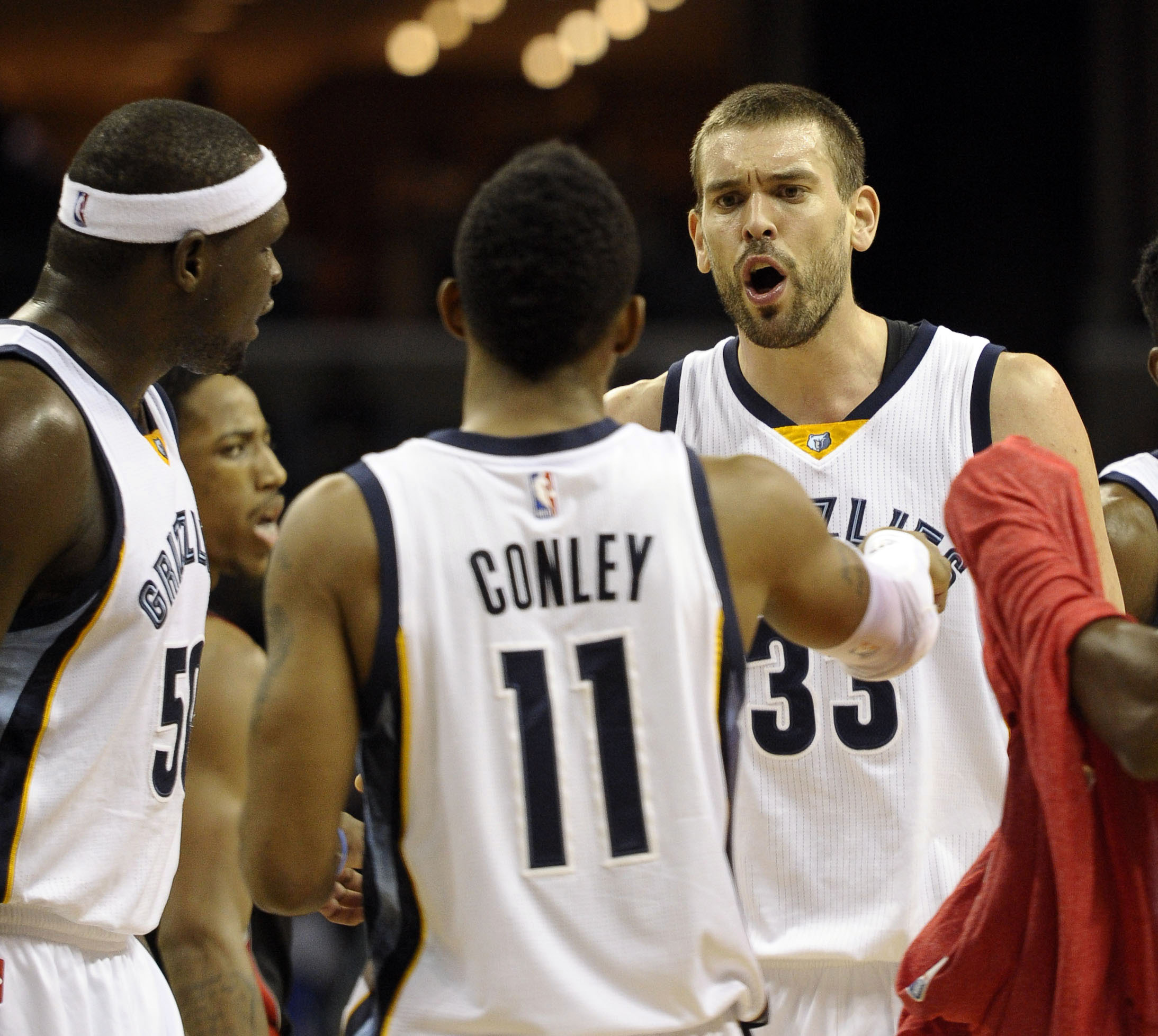 Memphis' three best players have to step it up when they are on the floor together.