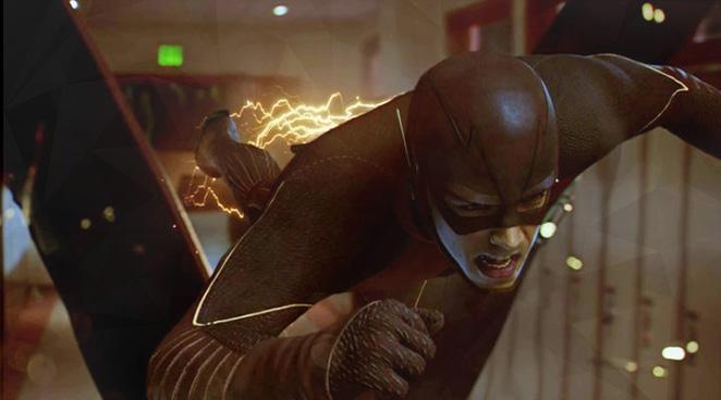 The Flash actor denies Twitter bashing fellow DC Comics star