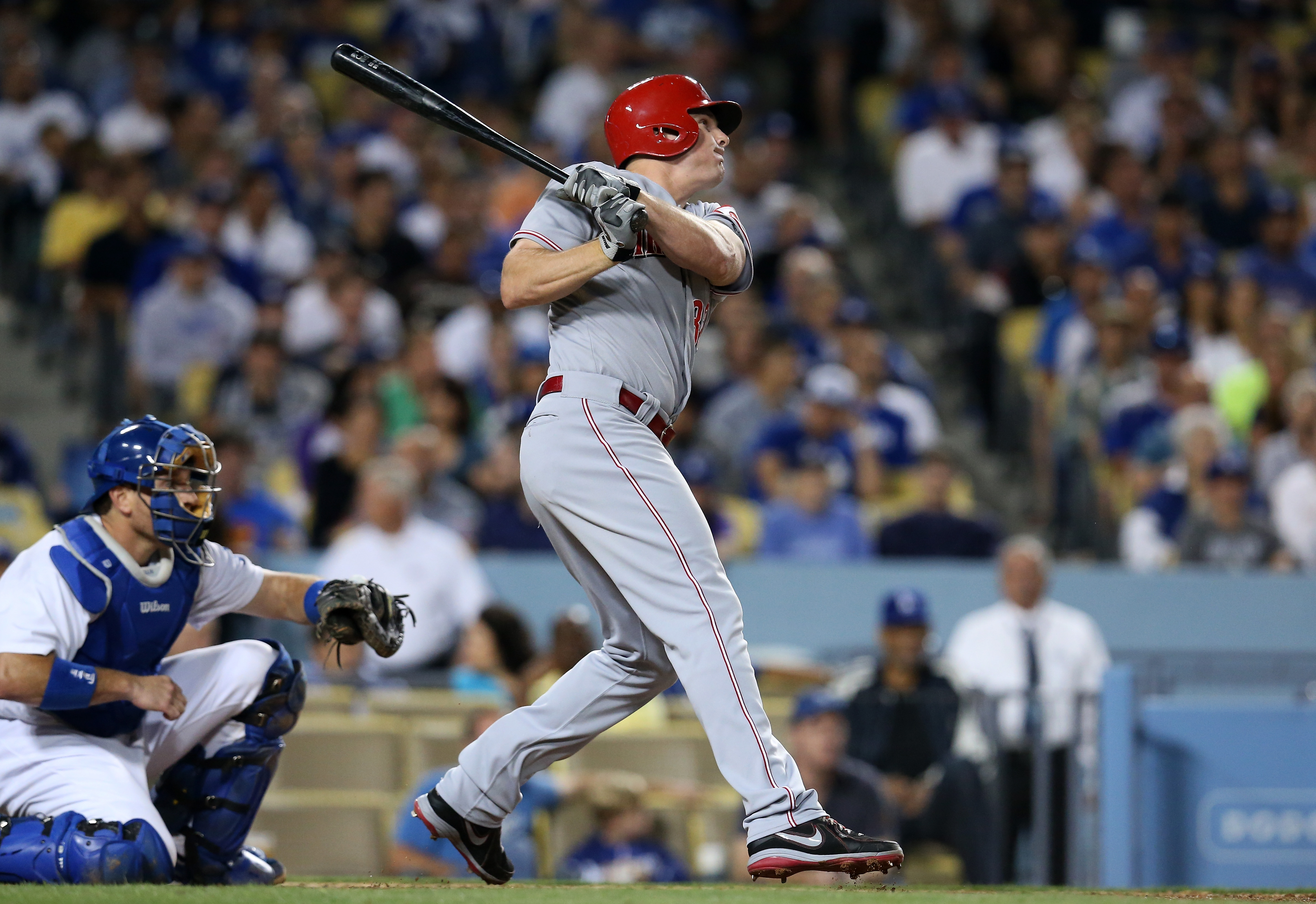 Jay Bruce has $13.5 million guaranteed remaining on his contract and has produced a total negative WAR the last two years.