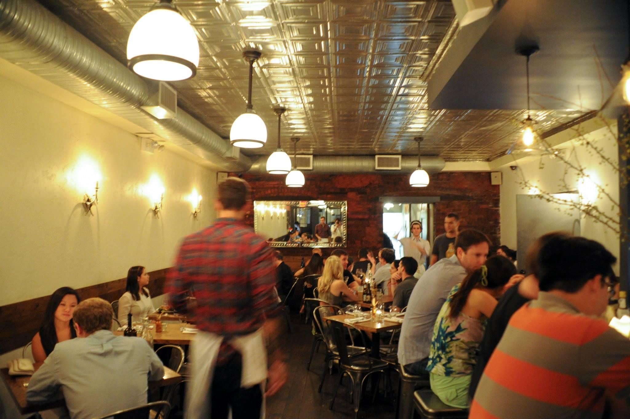 [The dining room at Resto]