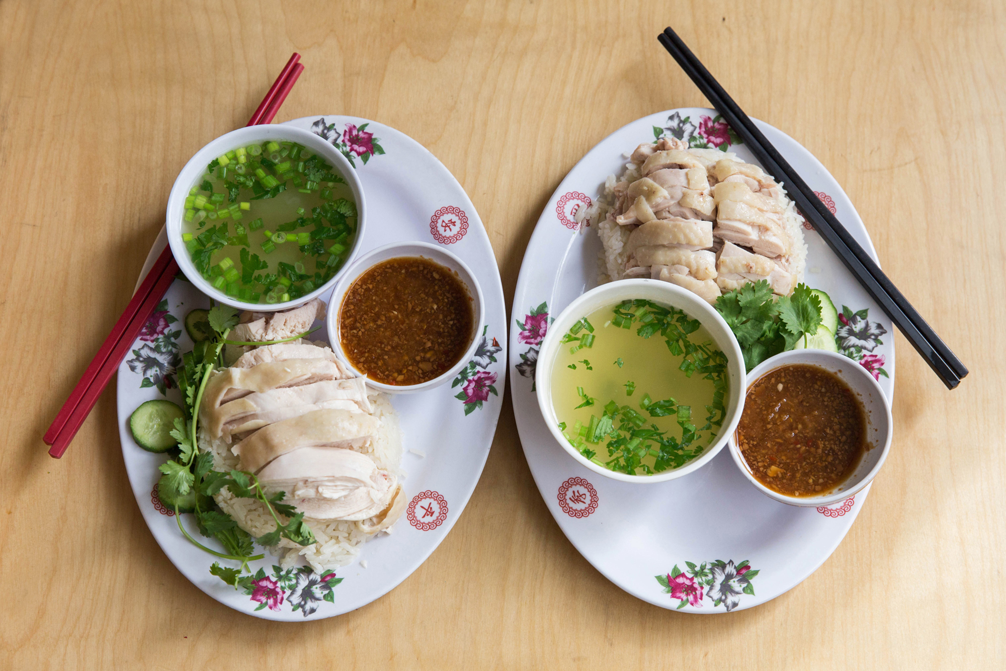 At Nong's Khao Man Gai, Chicken and Rice Is Actually Life-Changing