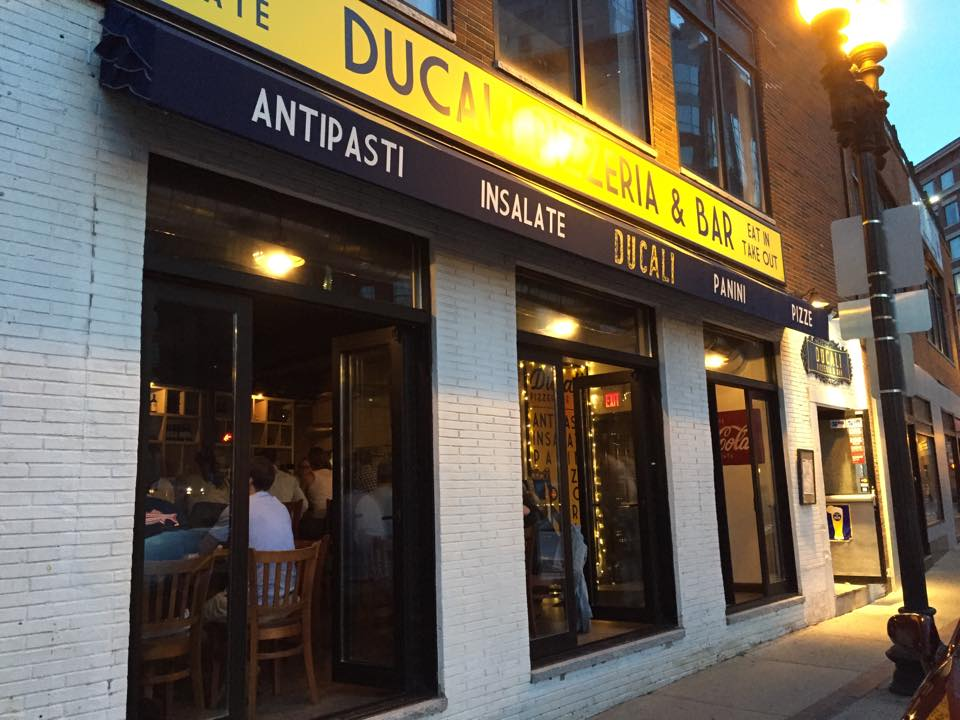 Ducali Pizzeria & Bar in the North End