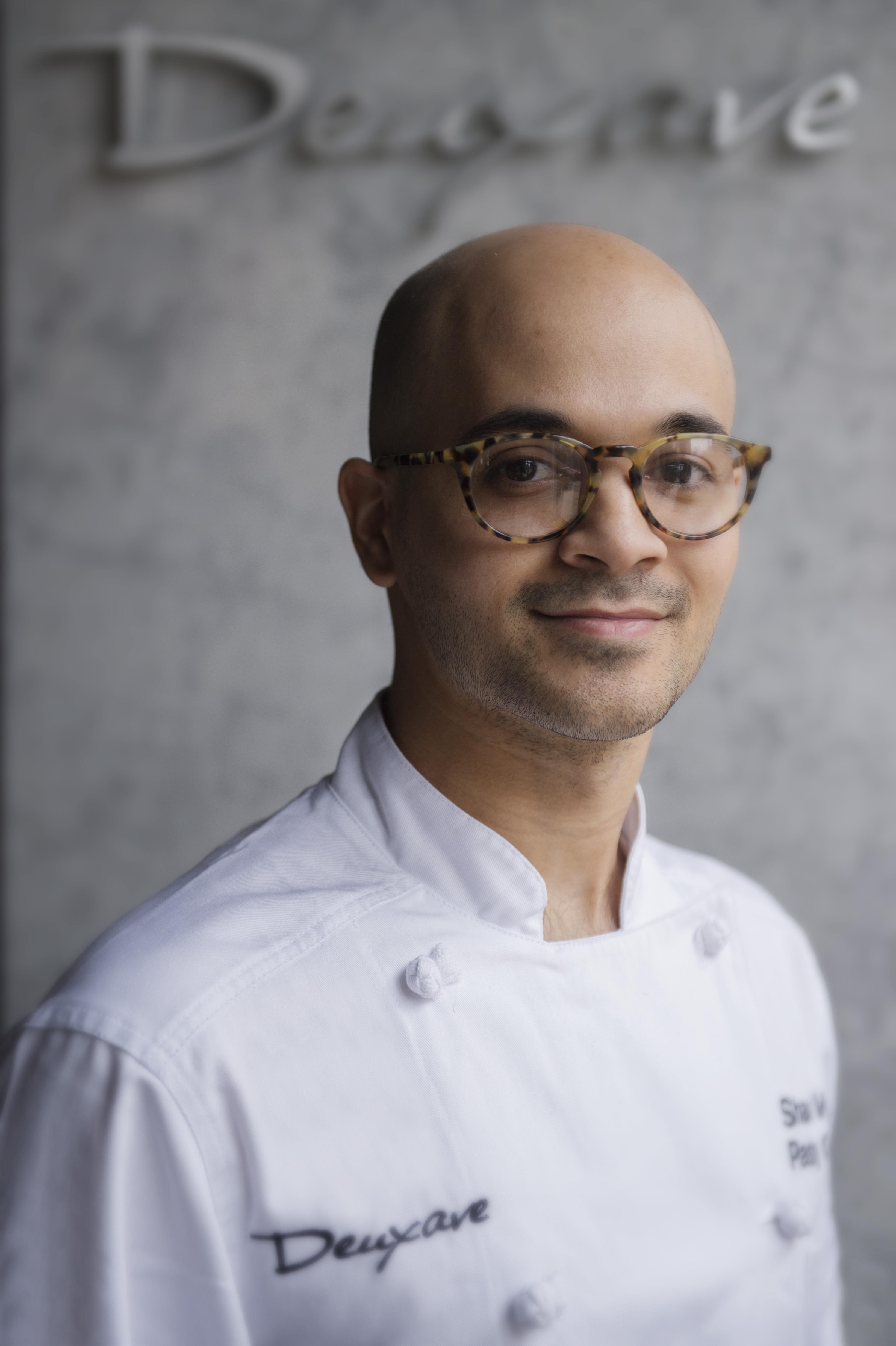 Shaun Velez, new pastry chef at Deuxave