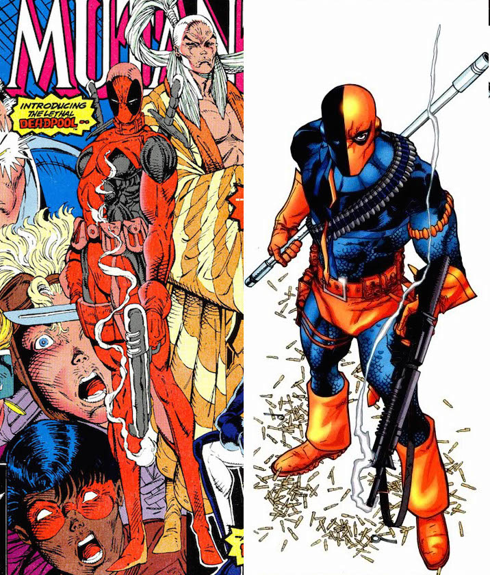 Deadpool was originally a ripoff of a DC Comics villain ... and it worked out OK