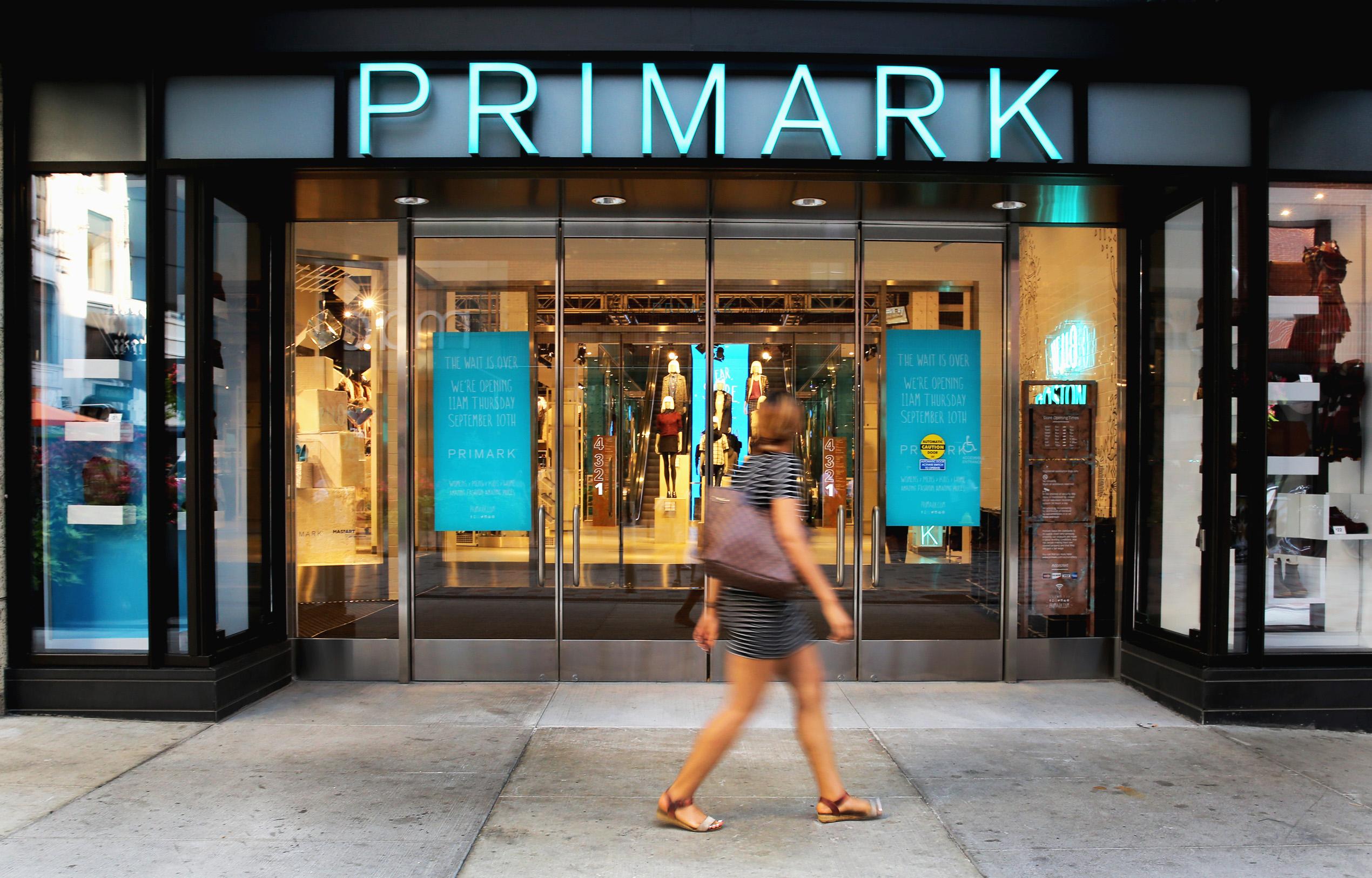 The Primark store in Boston